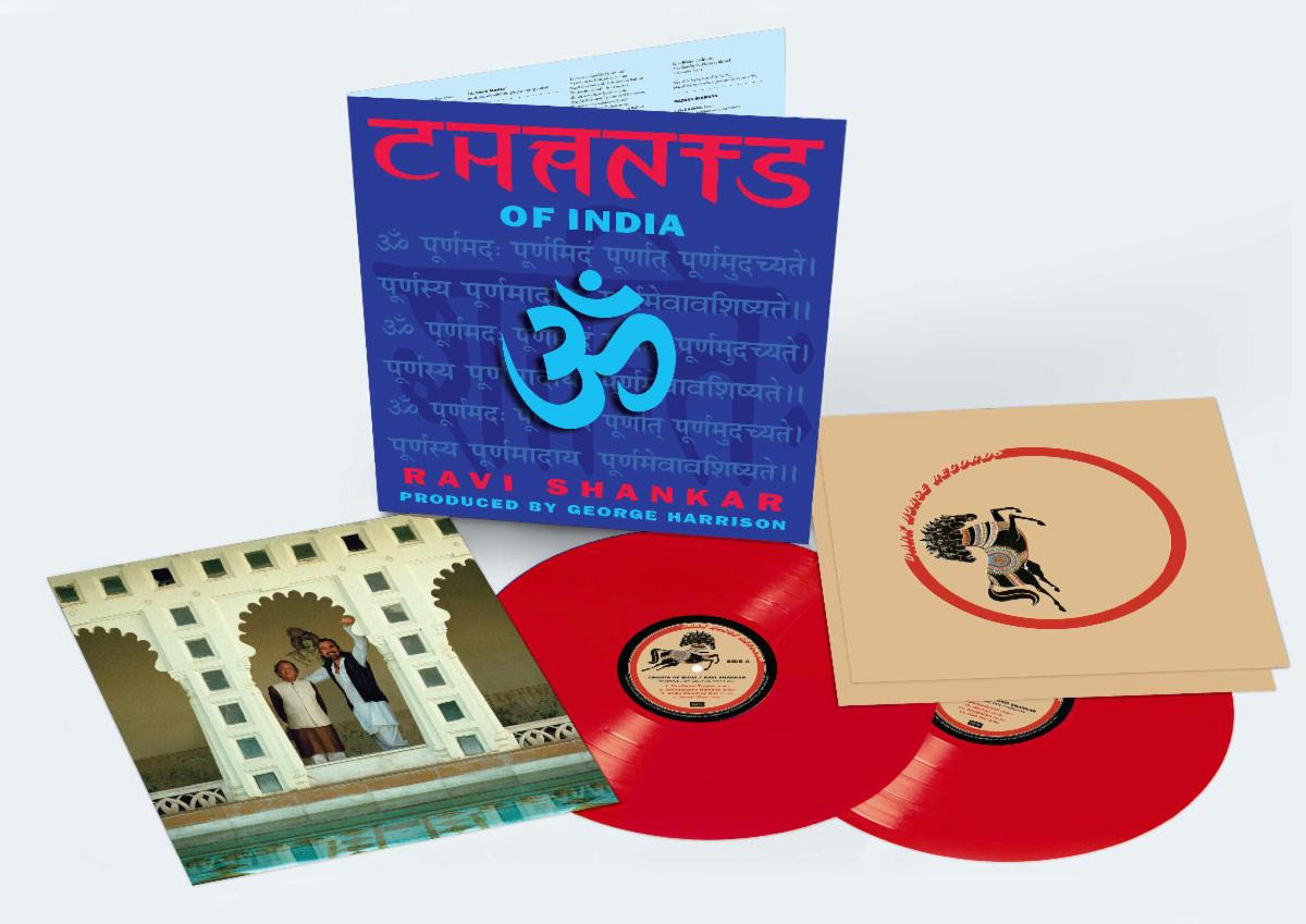 Dark Horse Records celebrate Ravi Shankar's first-ever vinyl release of 'Chants Of India'