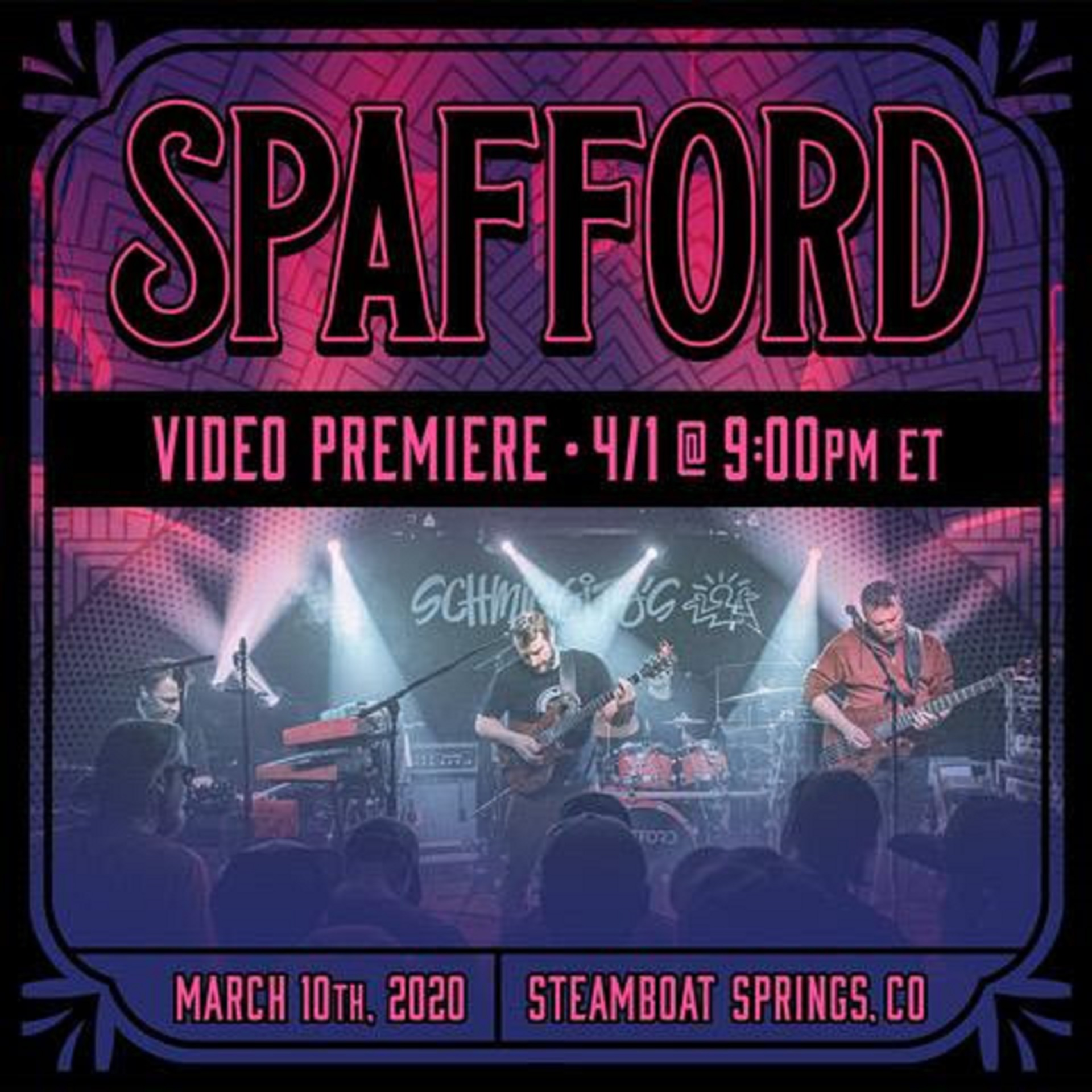 Spafford to release full Steamboat Springs show