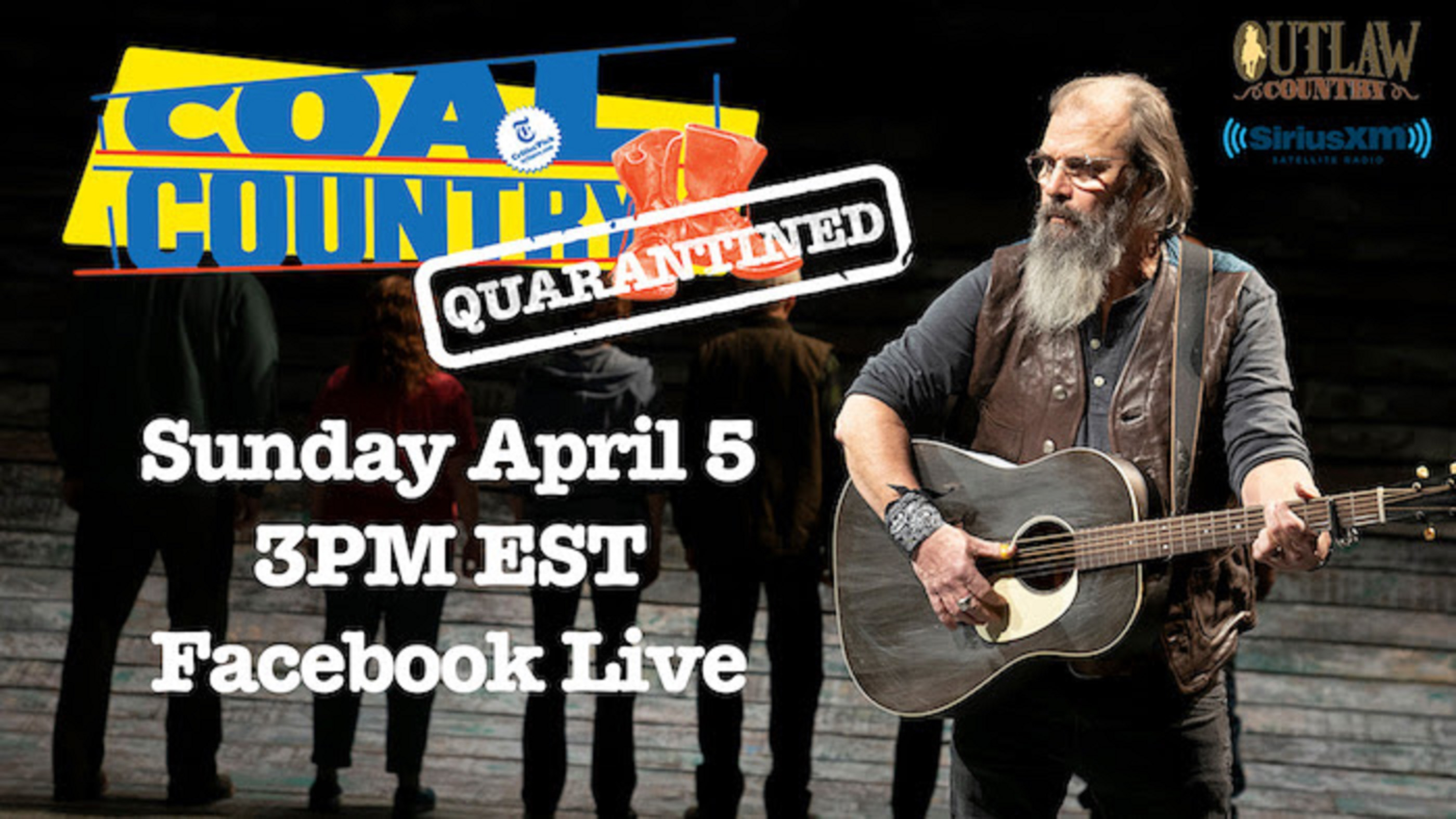 Steve Earle To Perform Special Live Stream