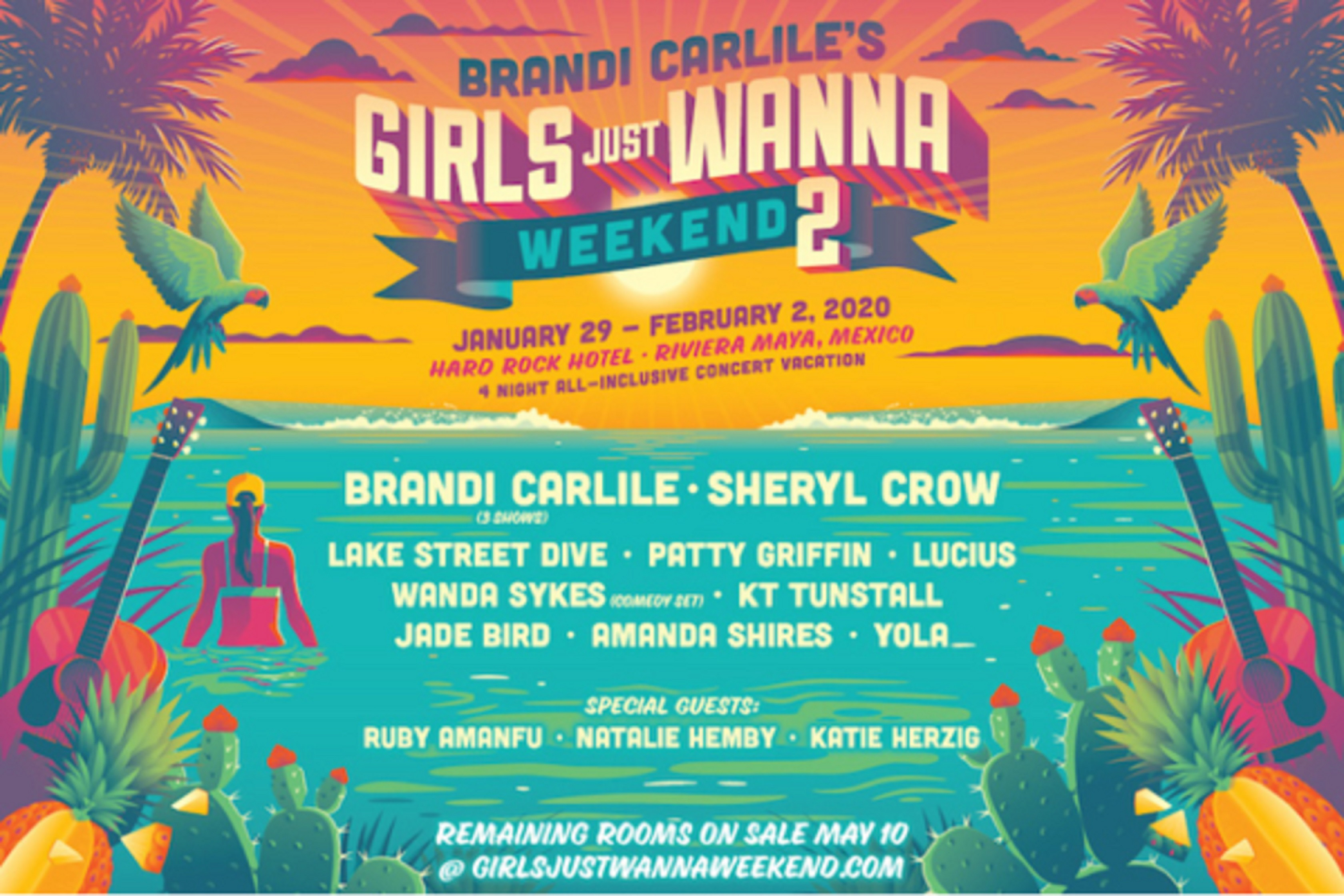Brandi Carlile confirms 2nd annual Girls Just Wanna Weekend lineup