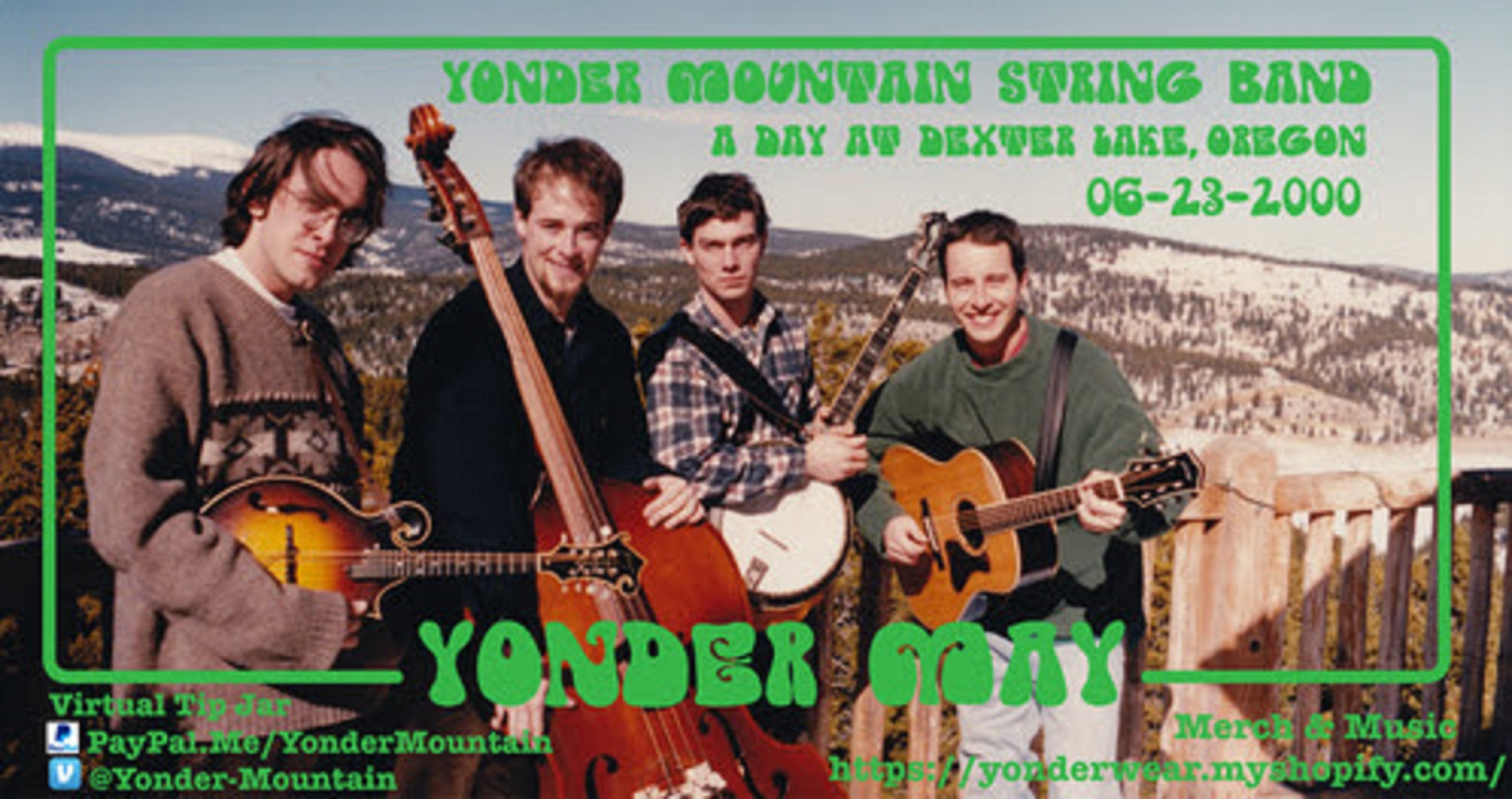 "Yonder Mountain String Band Announce ""Yonder May"""