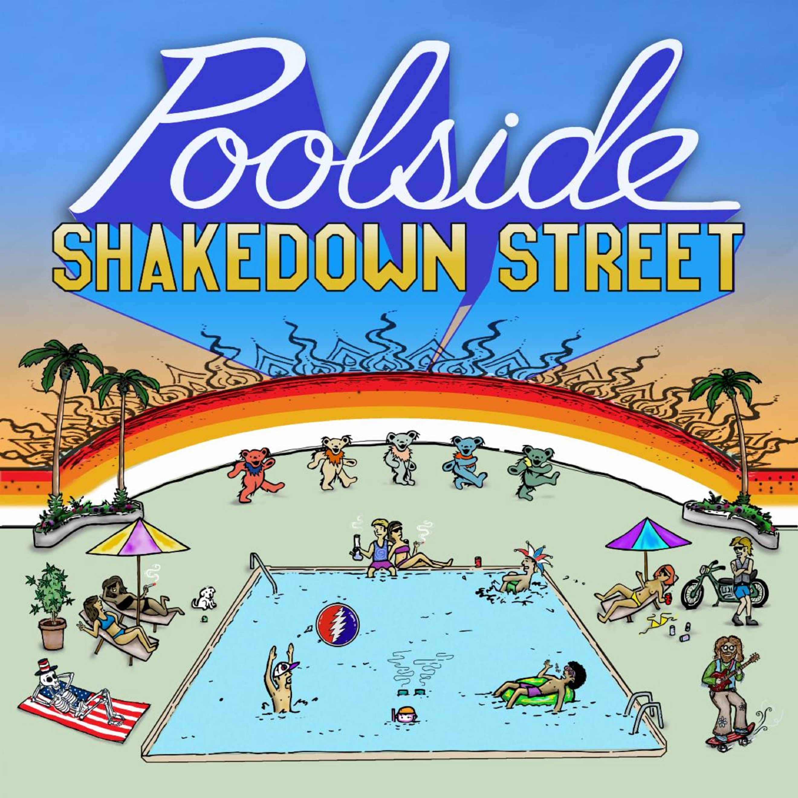 Poolside shares Shakedown Street for Jerry's Birthday