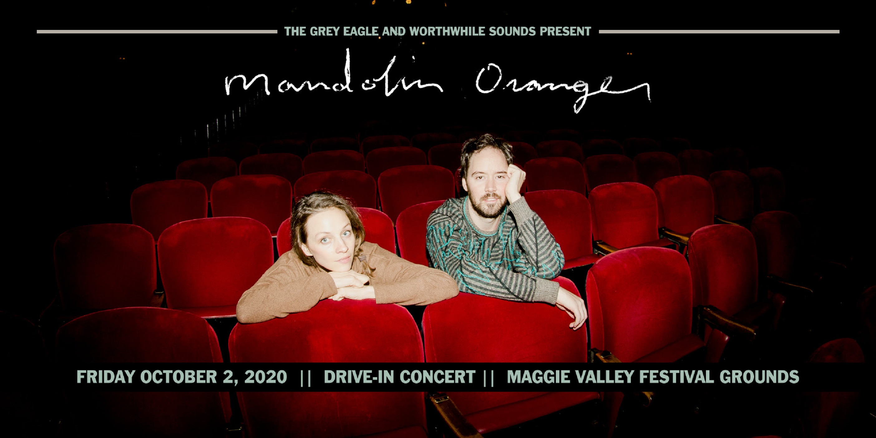 Mandolin Orange Confirm Drive-In Concert at Maggie Valley Festival Grounds