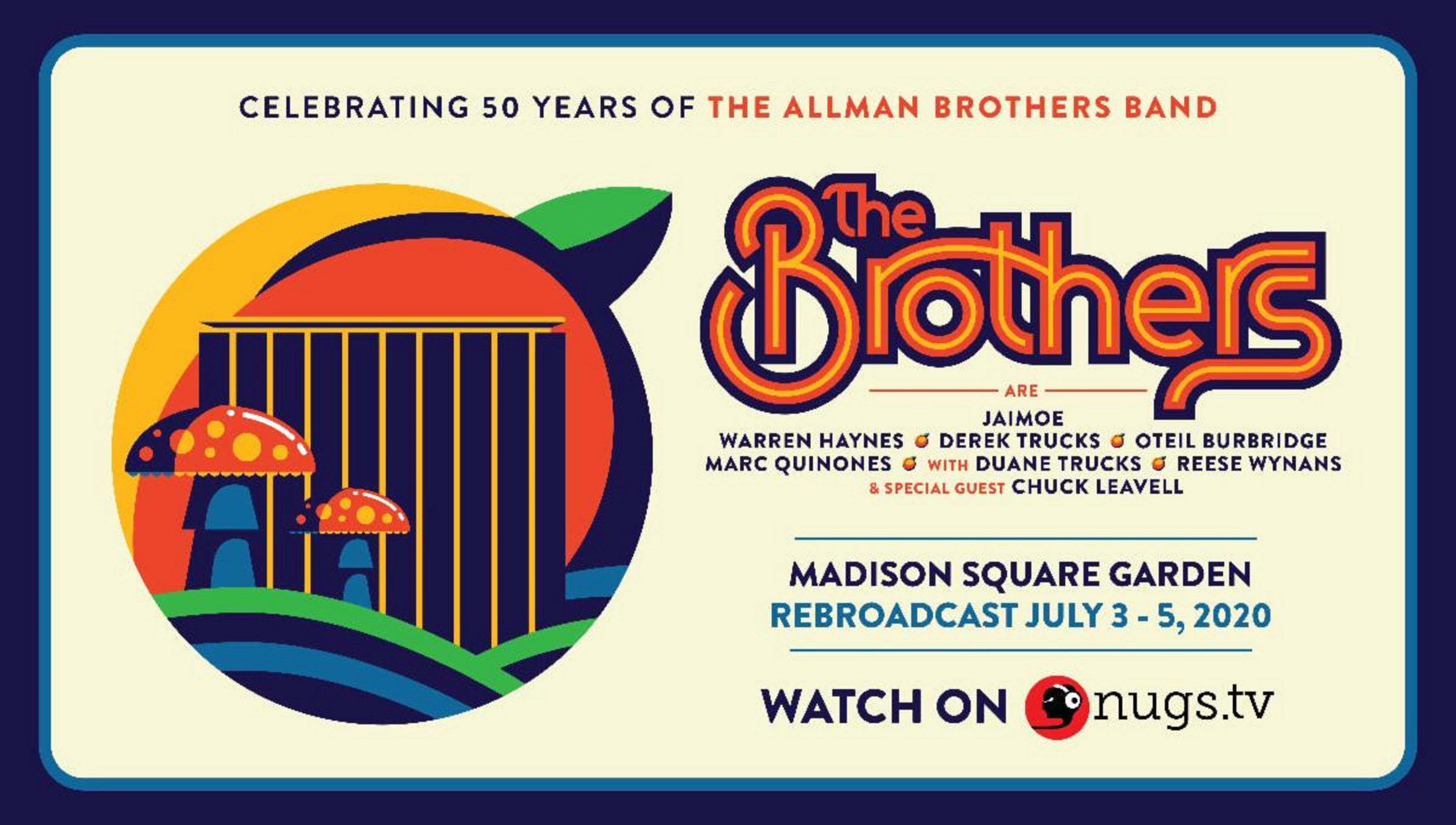 Allman Brothers Band Tribute at Madison Square Garden Re-Broadcast