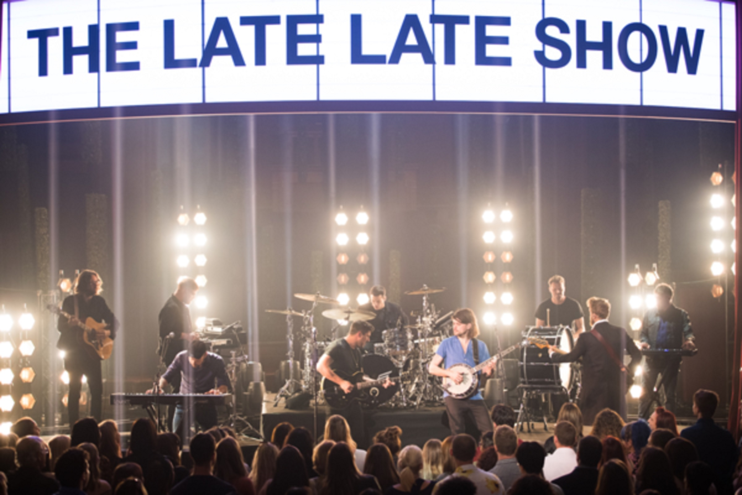 "Mumford & Sons perform ""Slip Away"" on ""The Late Late Show with James Corden"""