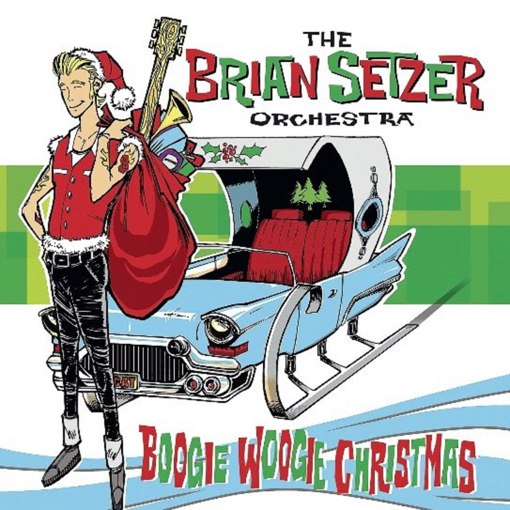 Two Albums by the BRIAN SETZER ORCHESTRA to be Released November 8