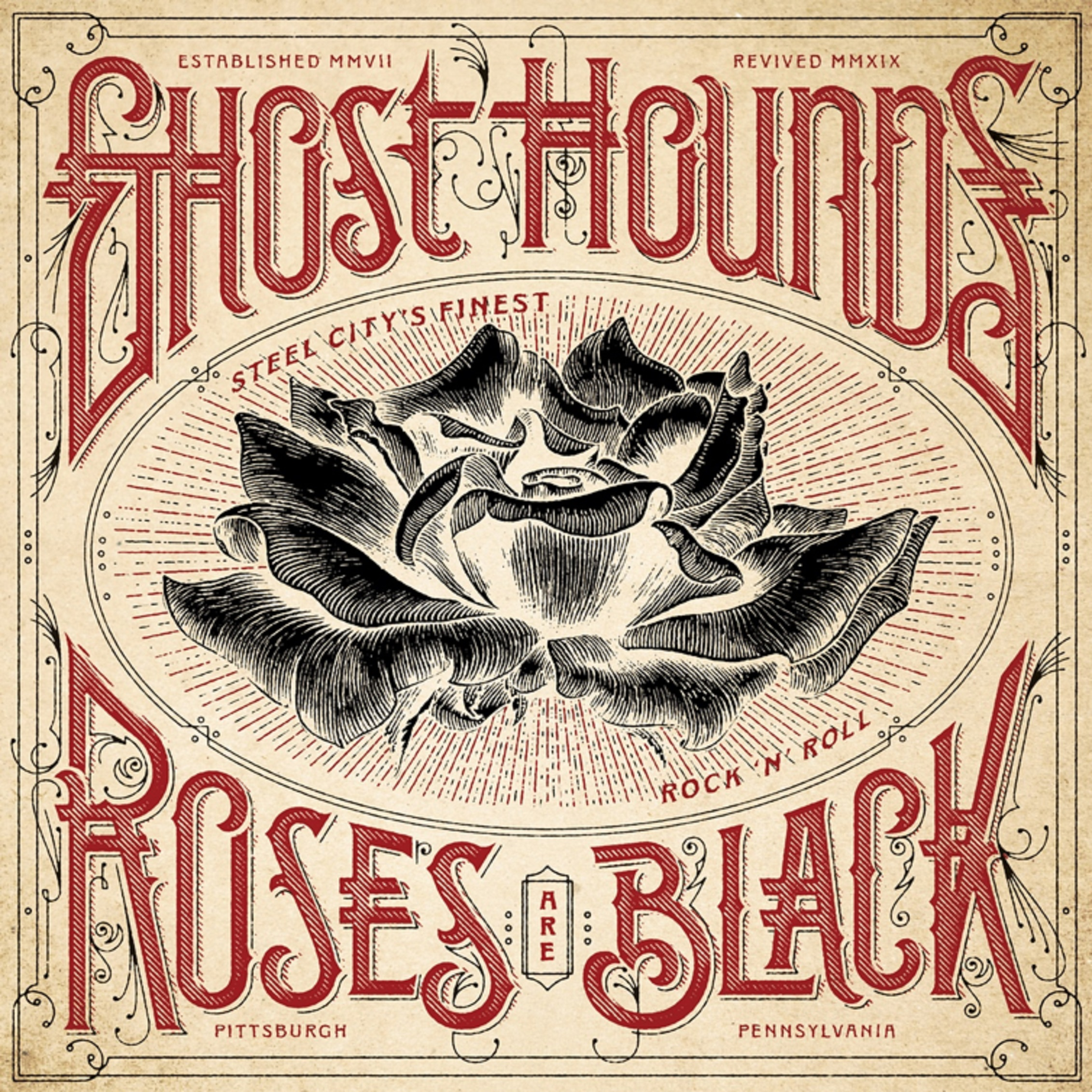 "Ghost Hounds' ""Roses Are Black"" Out Now"