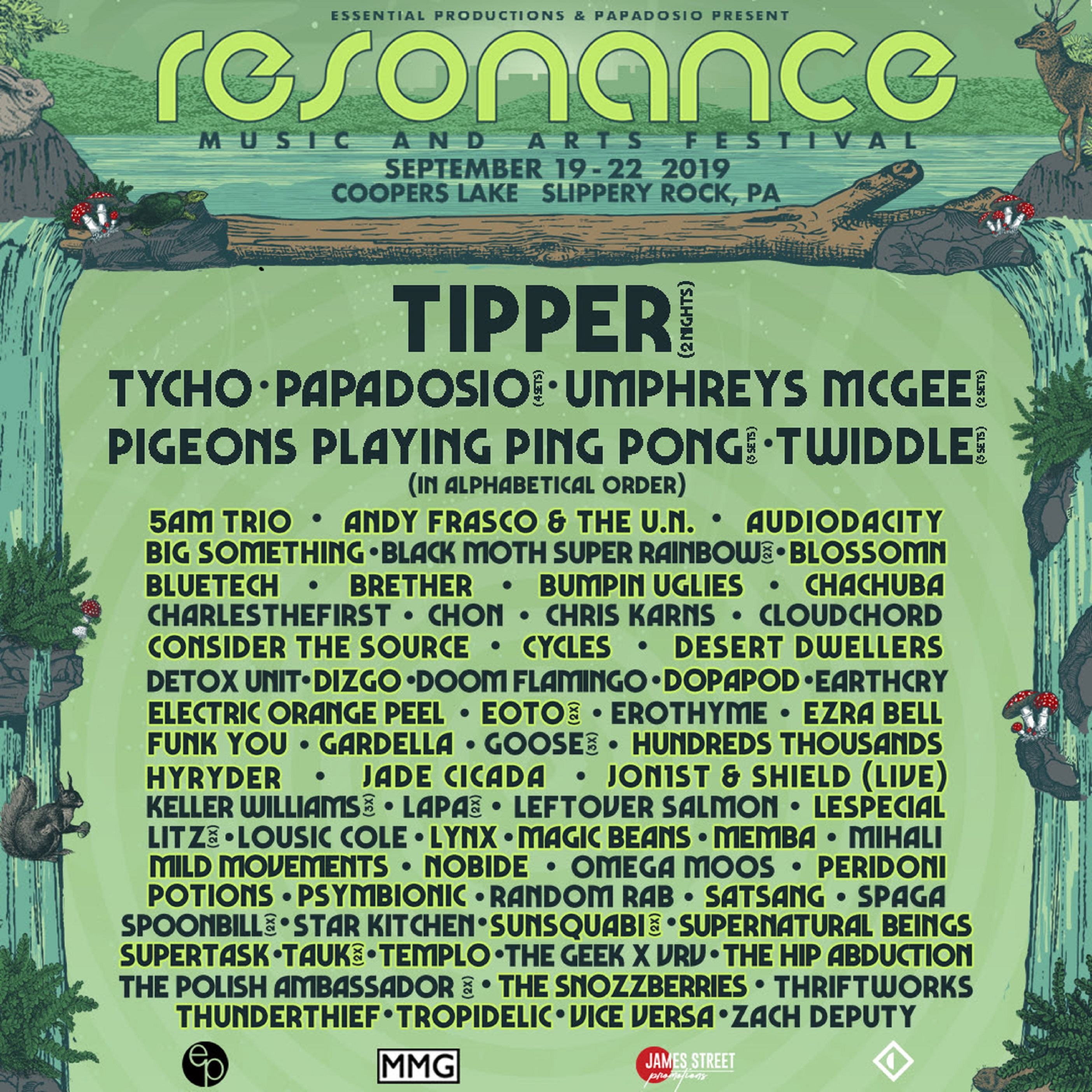 Image result for resonance music festival 2019 lineup