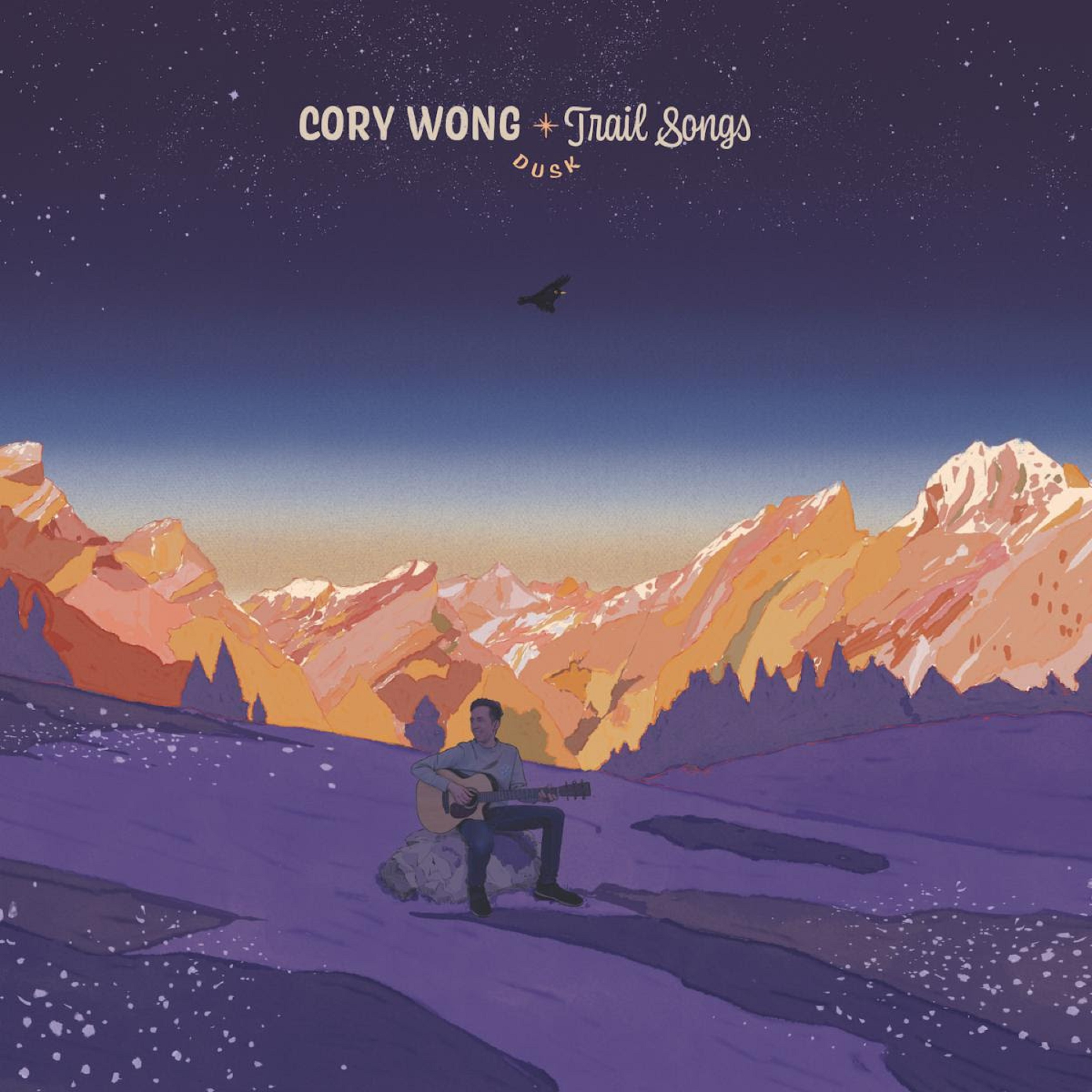 "Cory Wong releases all acoustic ""Trail Songs: Dusk"""