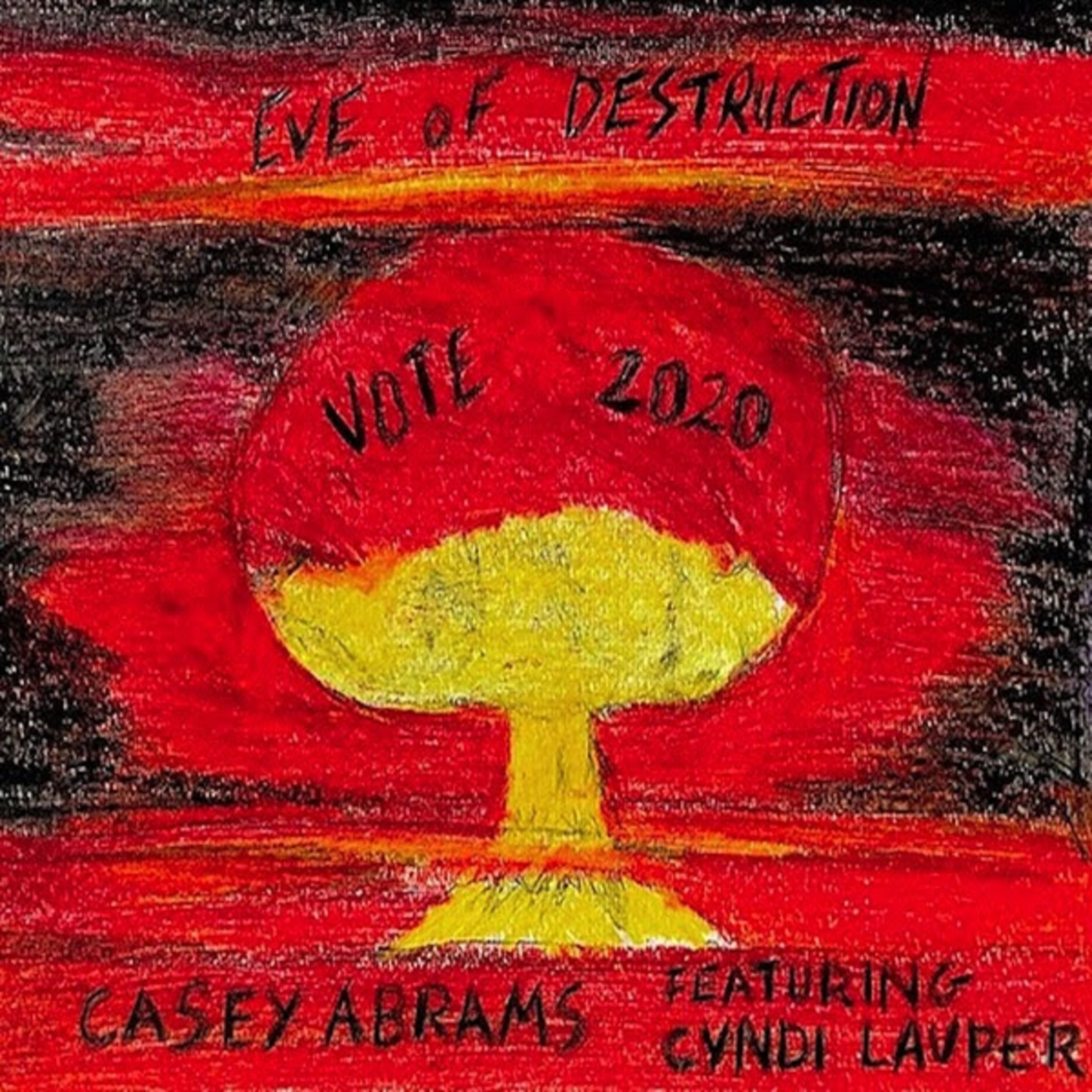 Casey Abrams Joins Voices with Cyndi Lauper on Iconic Protest Song EVE OF DESTRUCTION