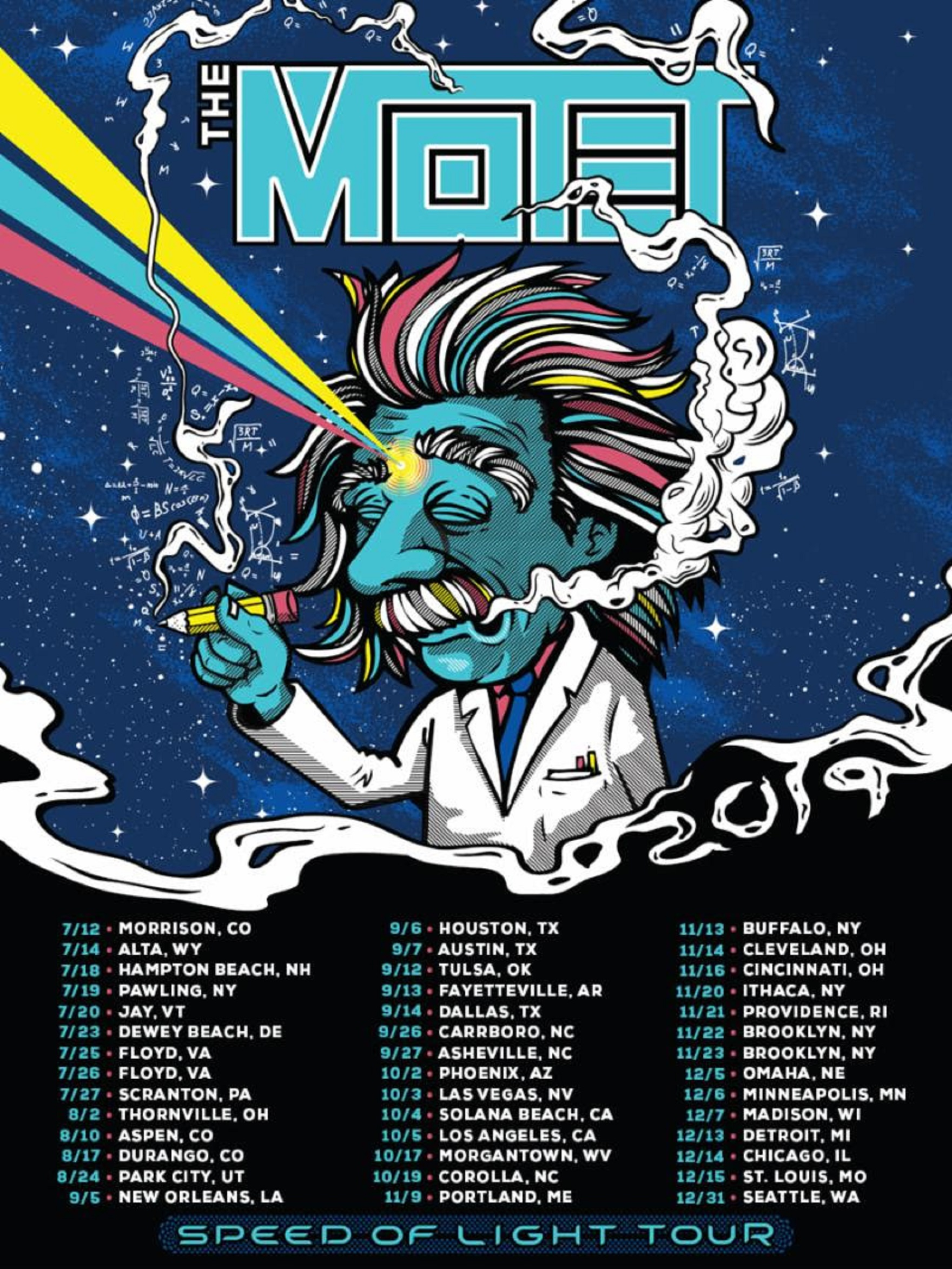 "THE MOTET Announces Fall Headlining ""Speed Of Light Tour"""