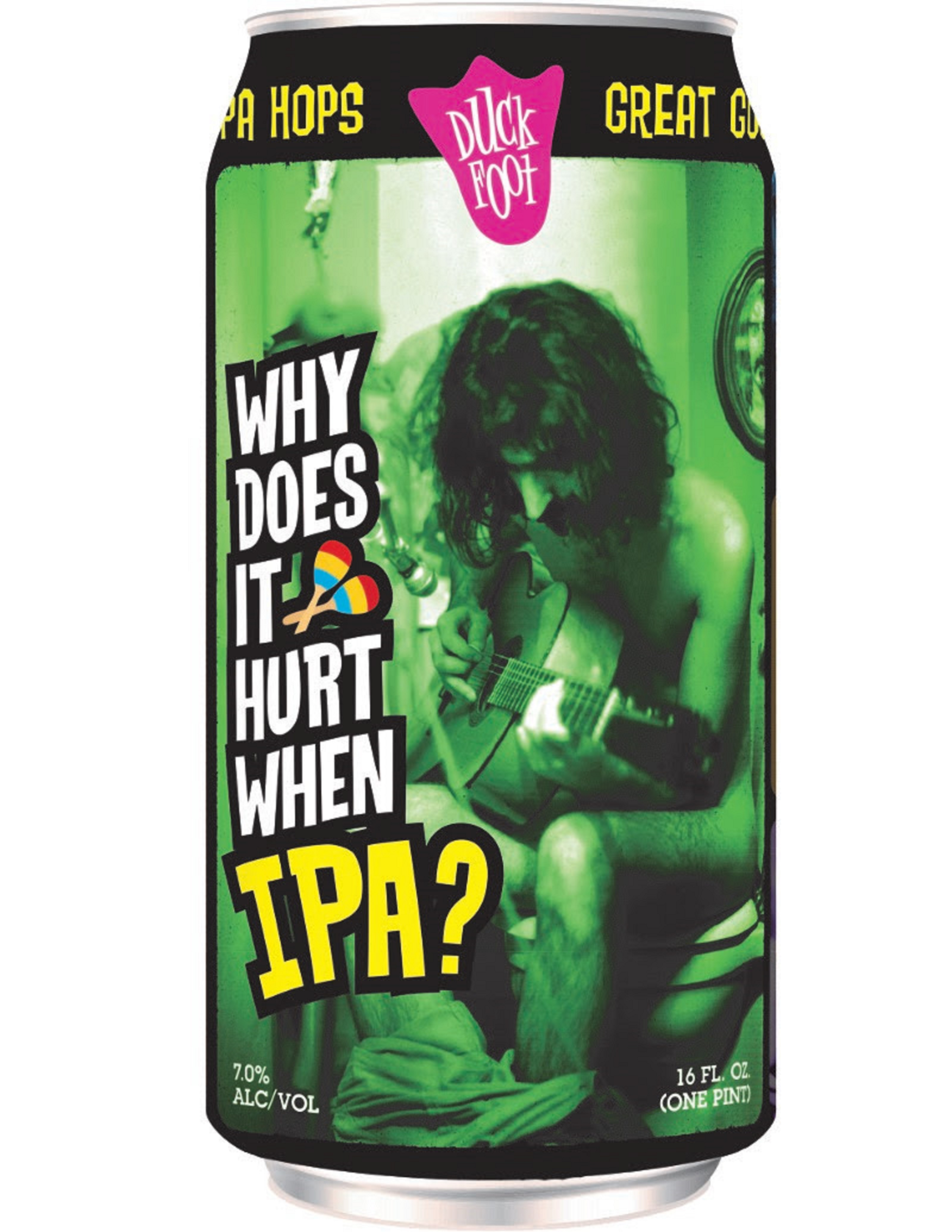 "New FRANK ZAPPA Tribute Beer, ""Why Does It Hurt When IPA?"""