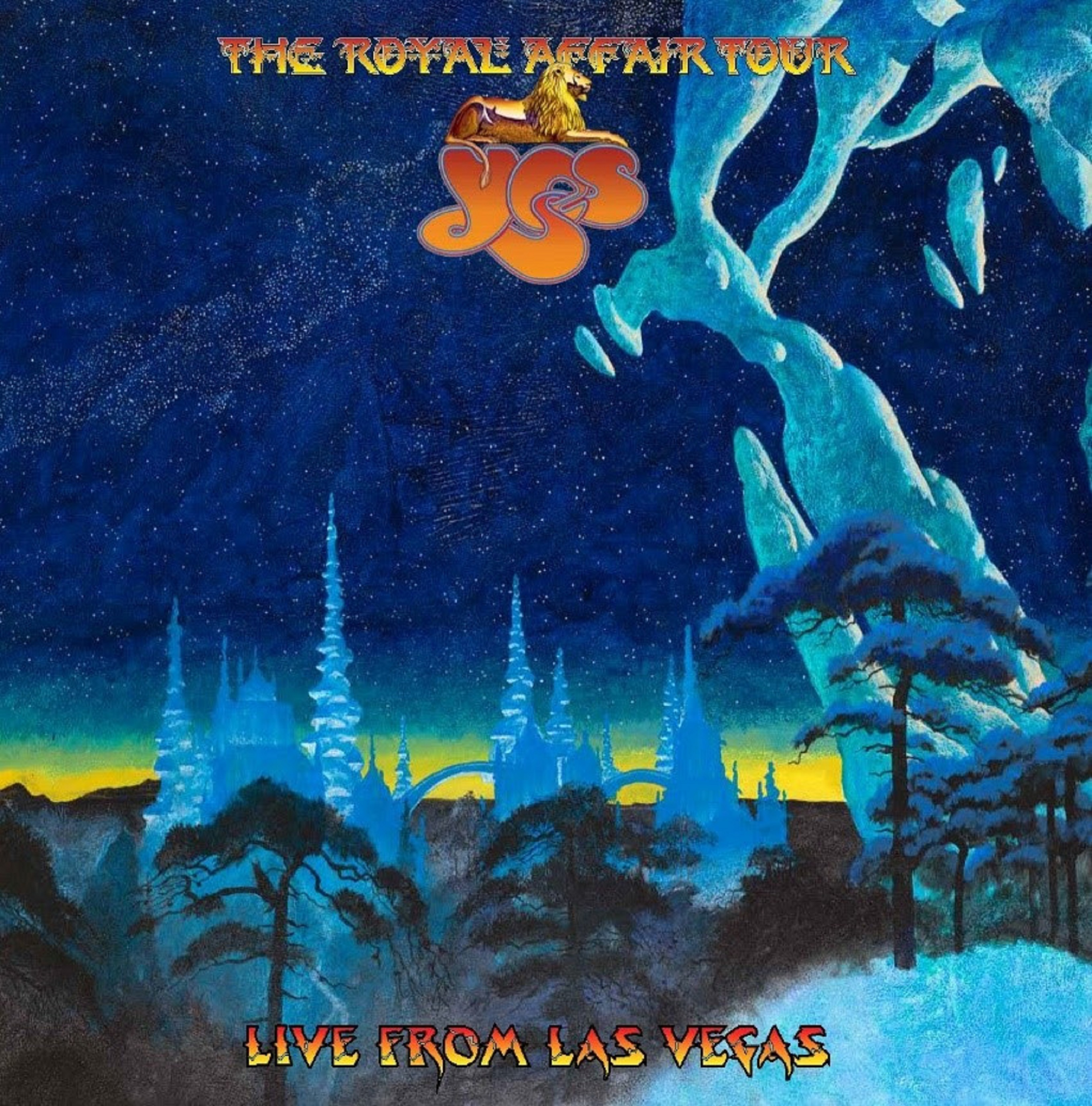 YES To Release New Album, 'The Royal Affair Tour, Live From Las Vegas,' October 30