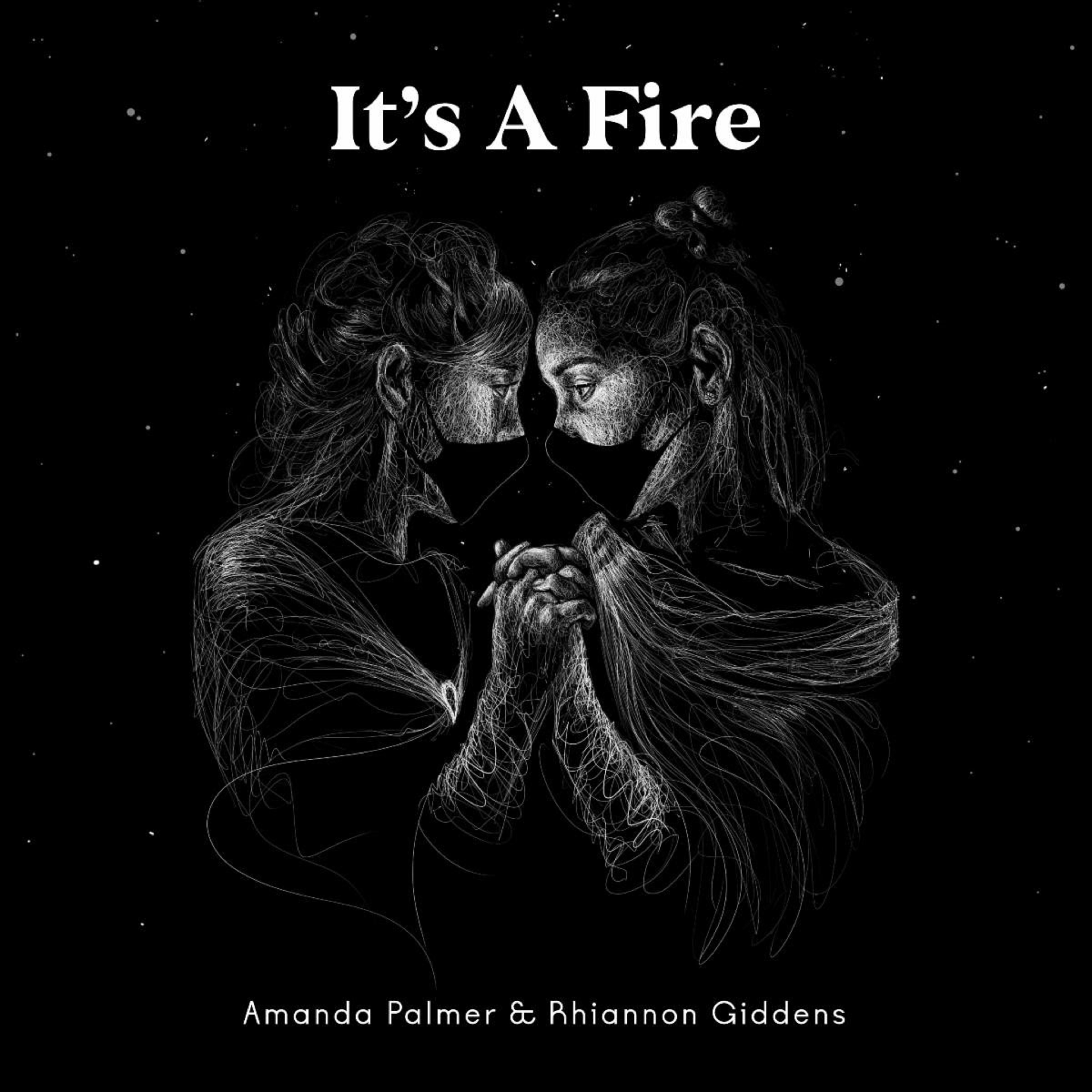 "Amanda Palmer and Rhiannon Giddens cover Portishead's ""It's A Fire"" for charity"