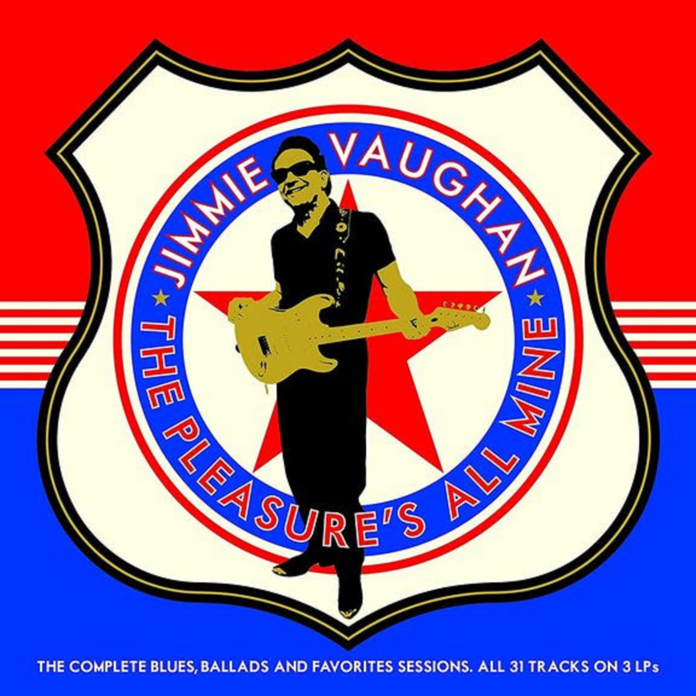 Jimmie Vaughan's 'The Pleasure's All Mine: The Complete Blues, Ballads and Favorites Collection' out Oct. 30