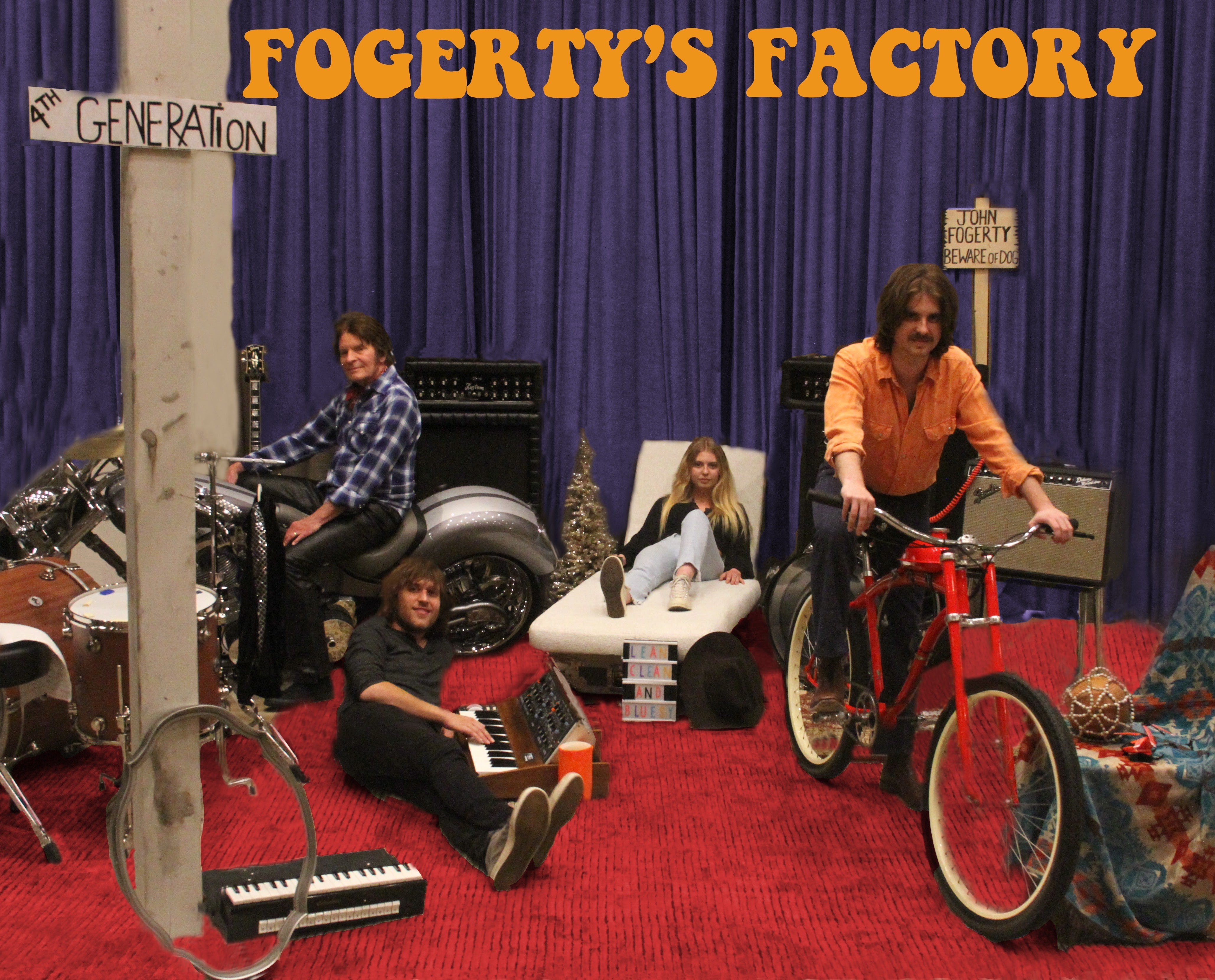 "John Fogerty To Release ""Fogerty's Factory"" on November 20"