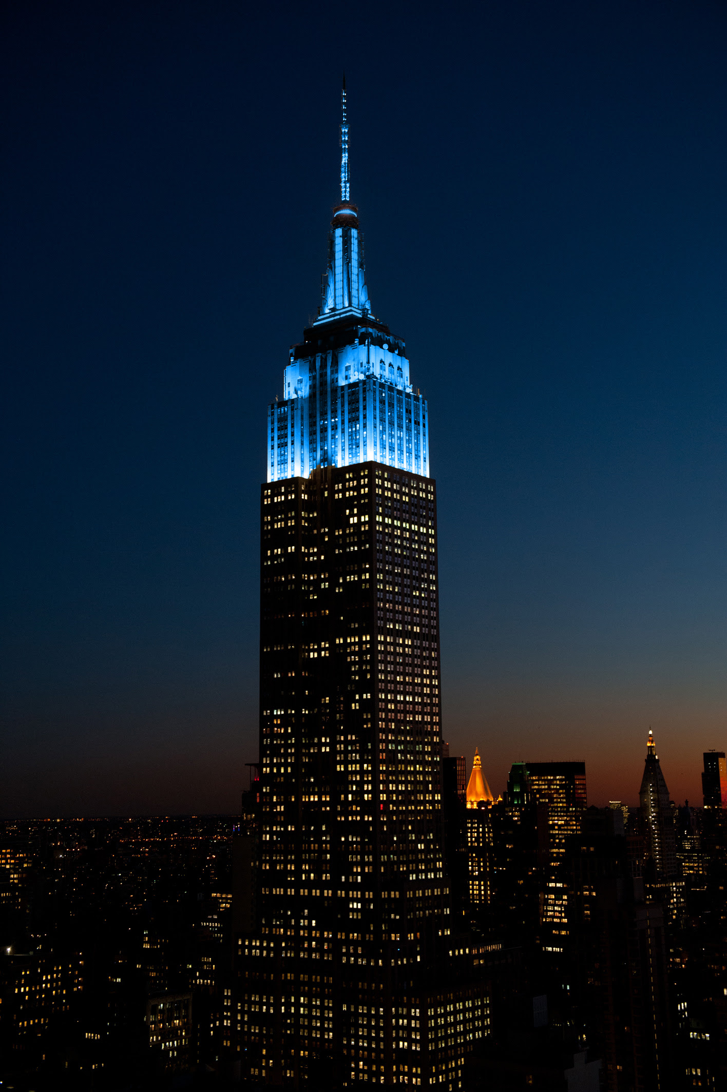 Empire State Building To Shine Sky Blue Tonight In Honor Of John Lennon's 80th Birthday