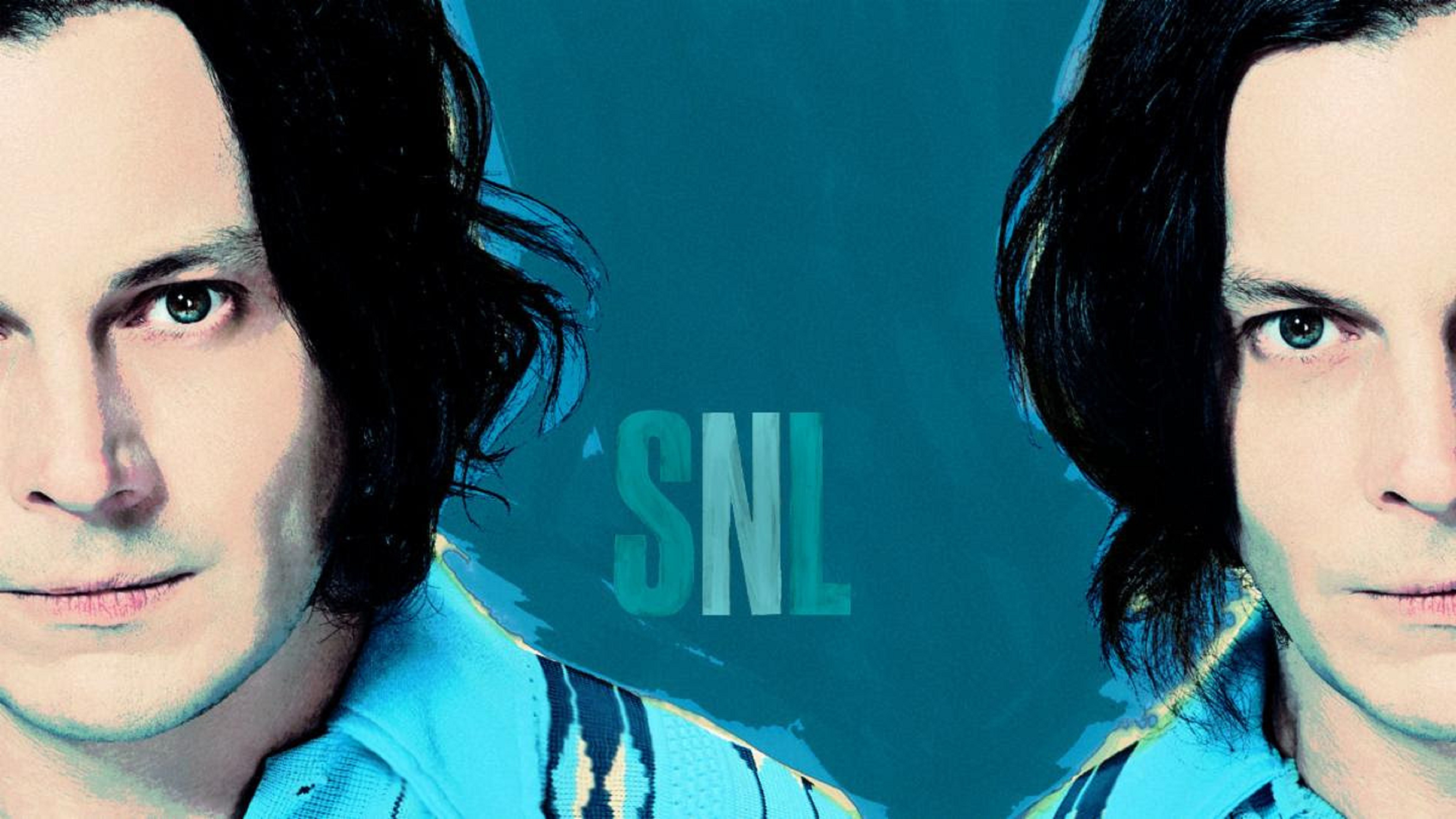 Jack White performed on SNL last night