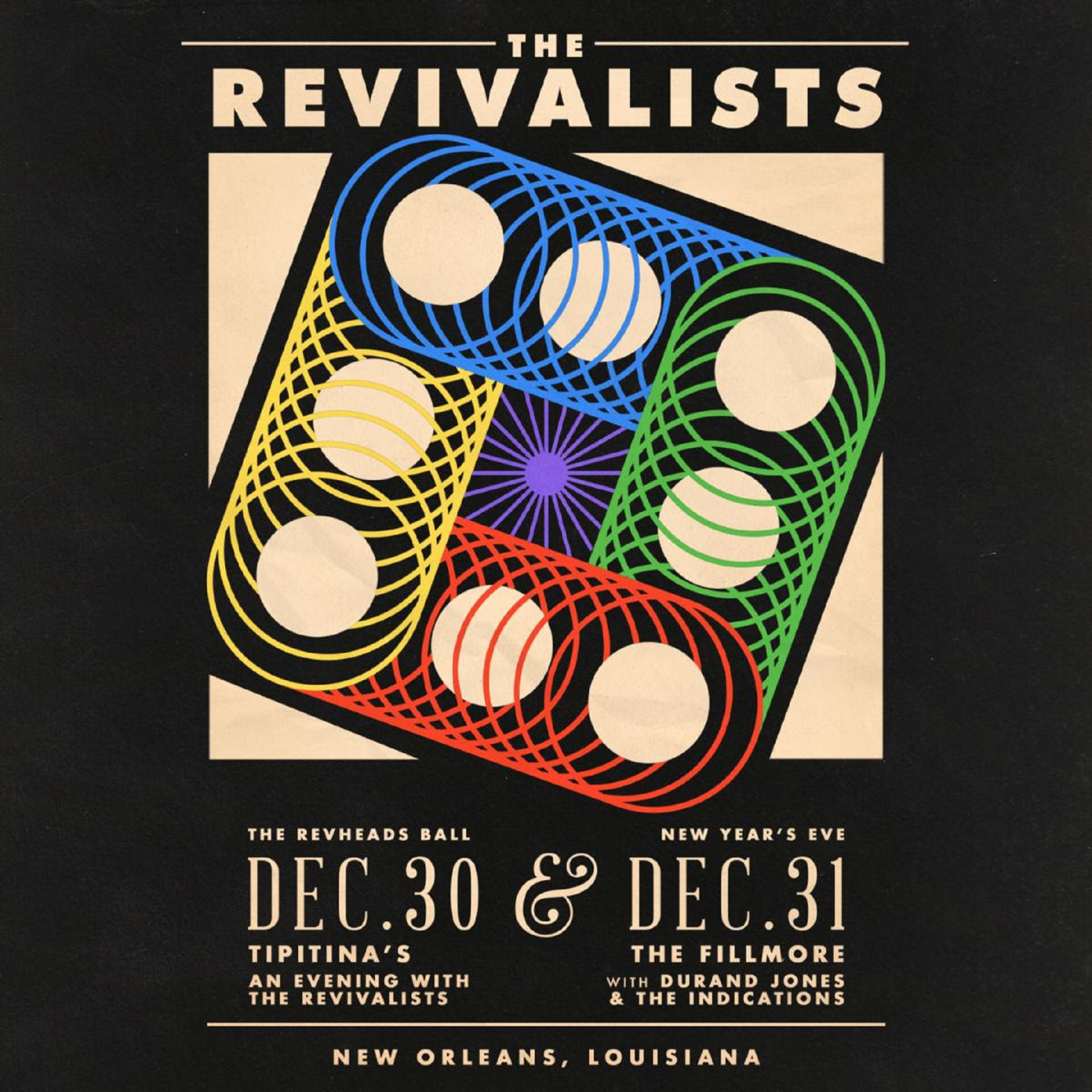 The Revivalists Announce Annual New Year's Eve Show