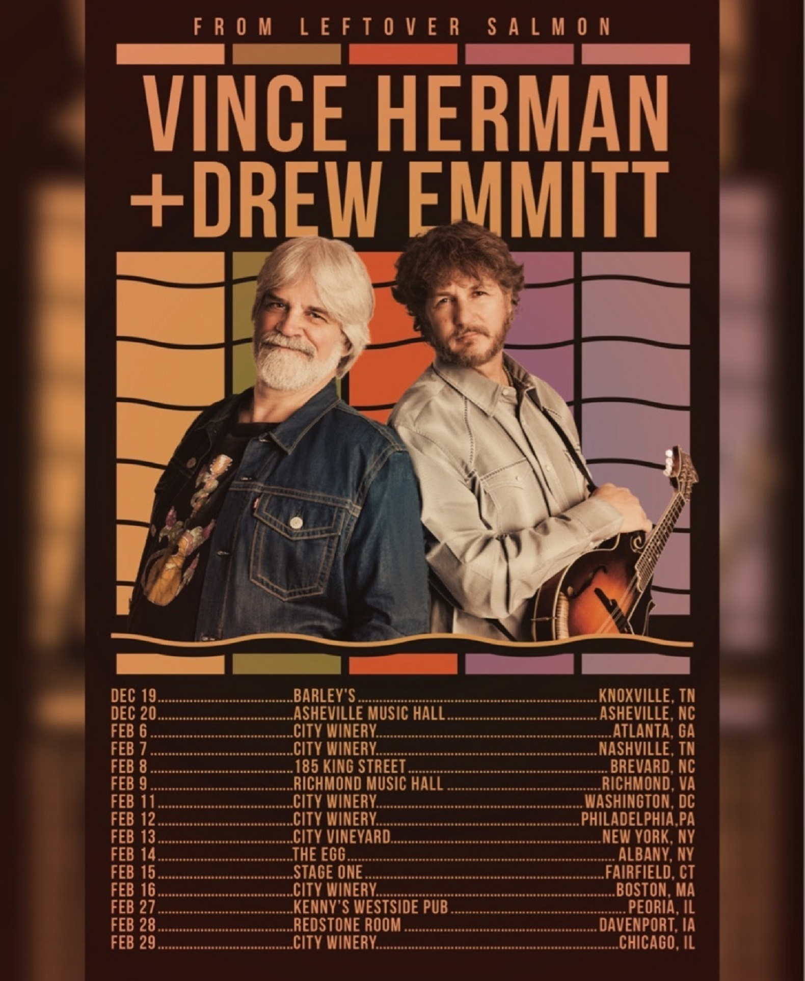 Vince Herman + Drew Emmitt On Tour This Winter