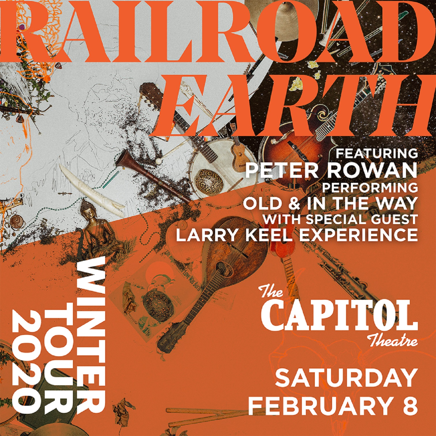 Railroad Earth @ The Capitol Theatre featuring Peter Rowan performing Old & In the Way