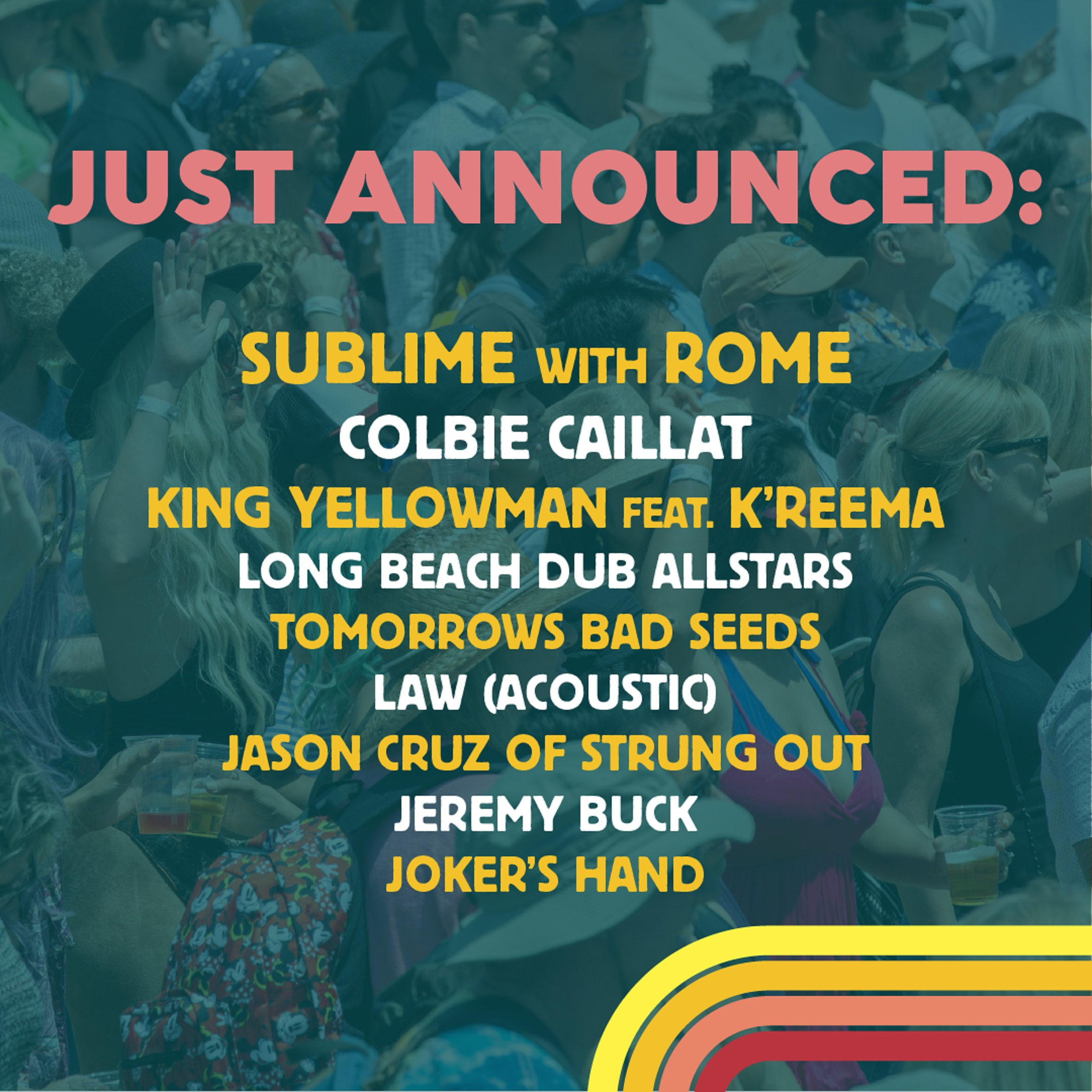 The BeachLife Festival Reveals Lineup Additions: SUBLIME WITH ROME, COLBIE CAILLAT, and more