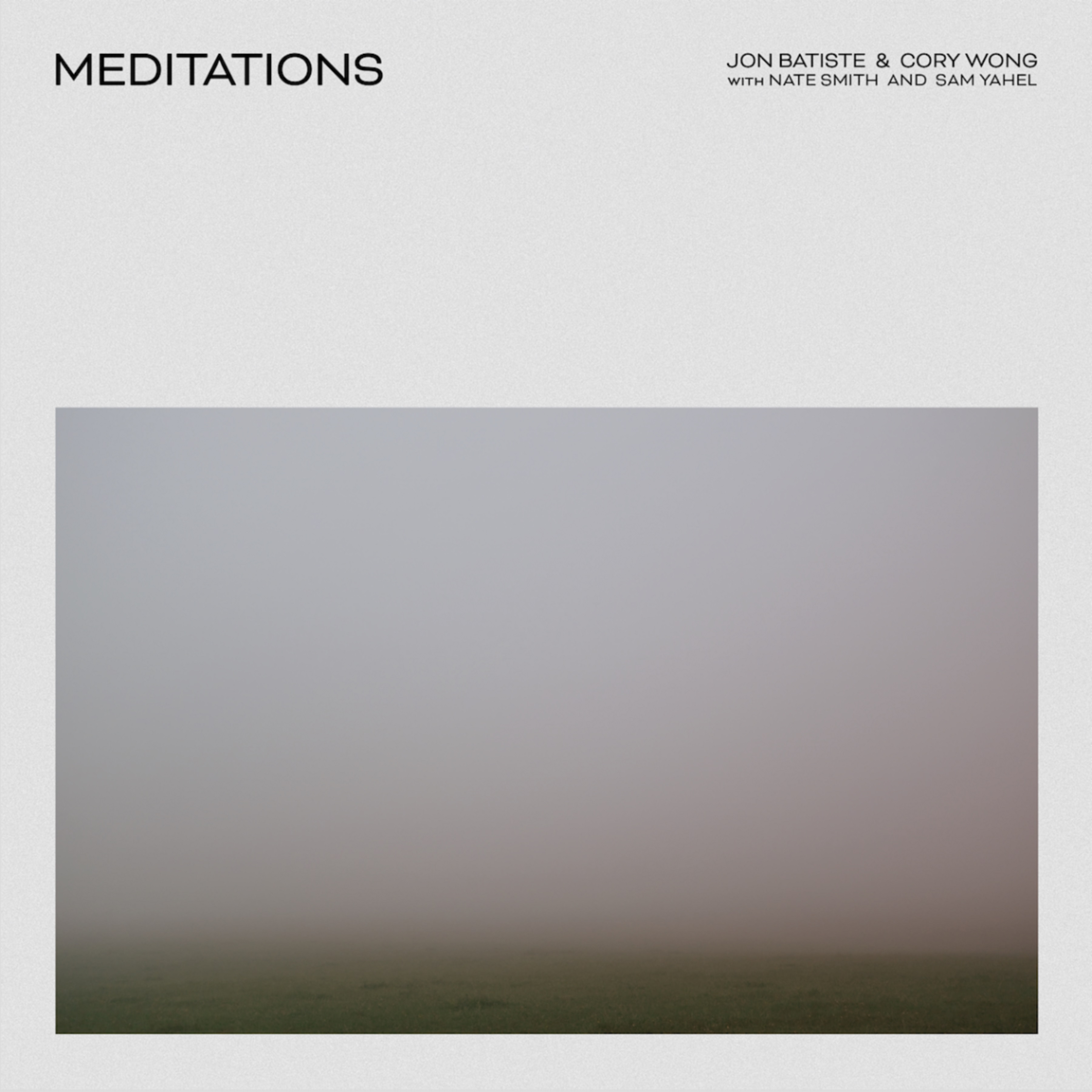 Jon Batiste and Cory Wong release new album; Meditations out Now