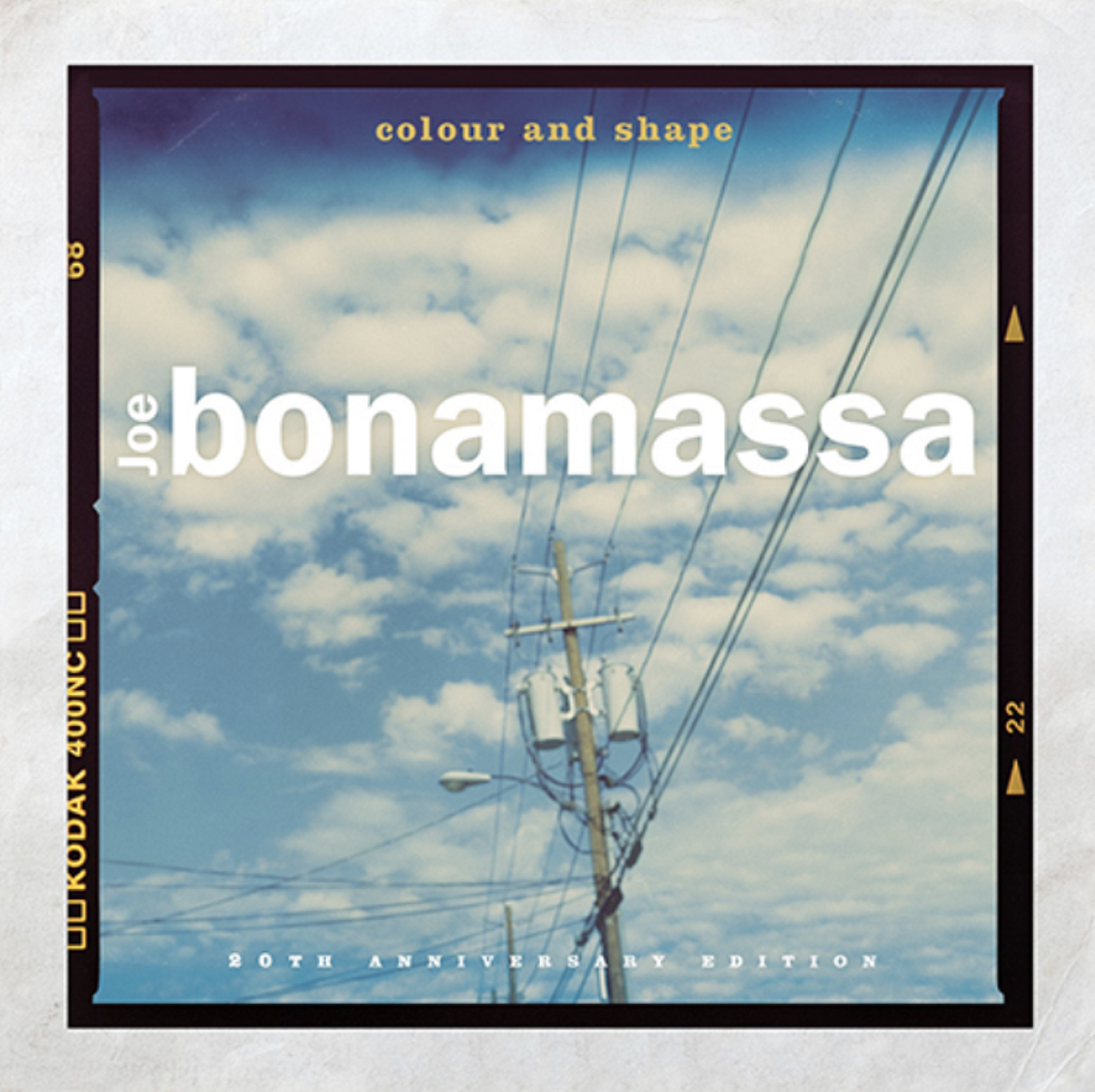 "Joe Bonamassa shares ""Colour and Shape""; Celebrates 20th anniversary of solo debut with 'A New Day Now' out Aug 7"
