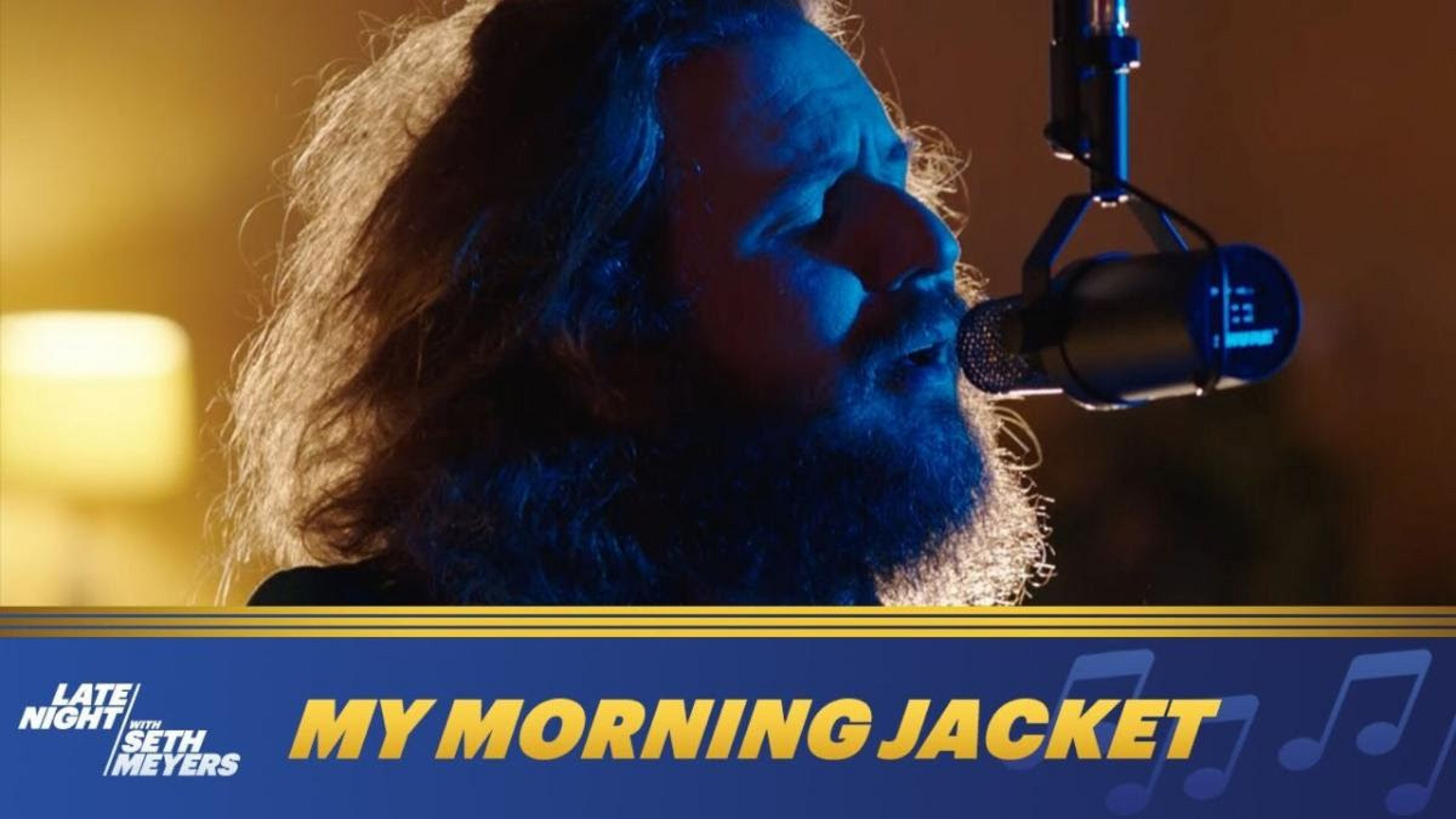 My Morning Jacket on Late Night with Seth Meyers