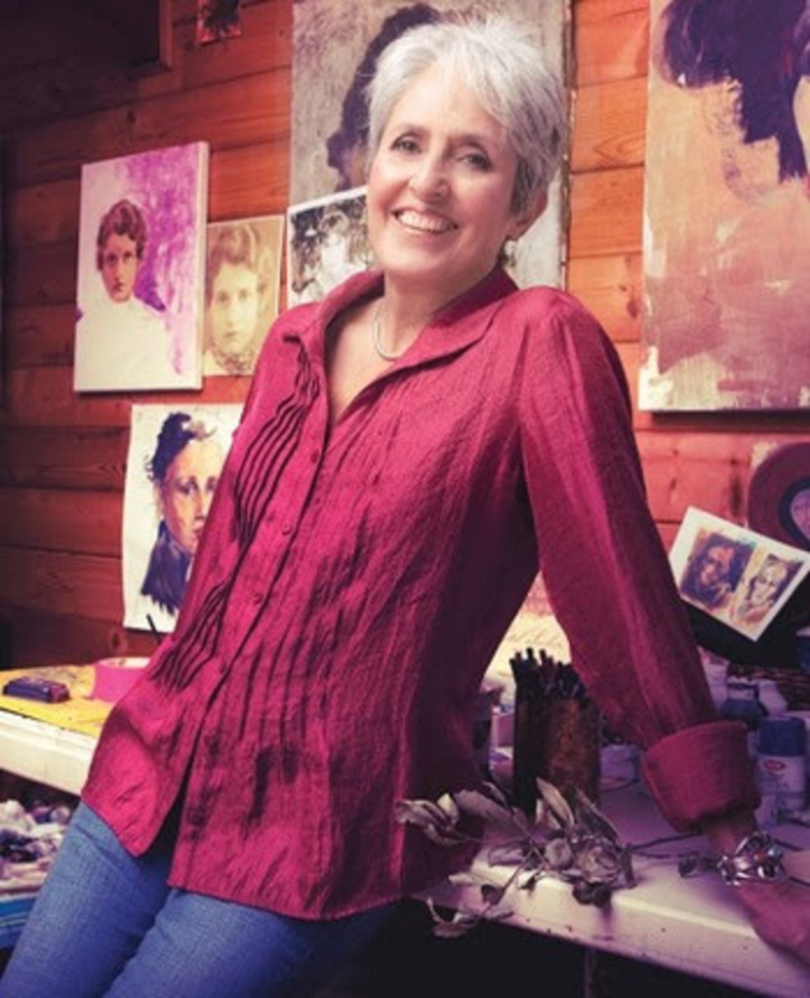 "Joan Baez's ""Mischief Makers 2"" exhibition opens January 6"