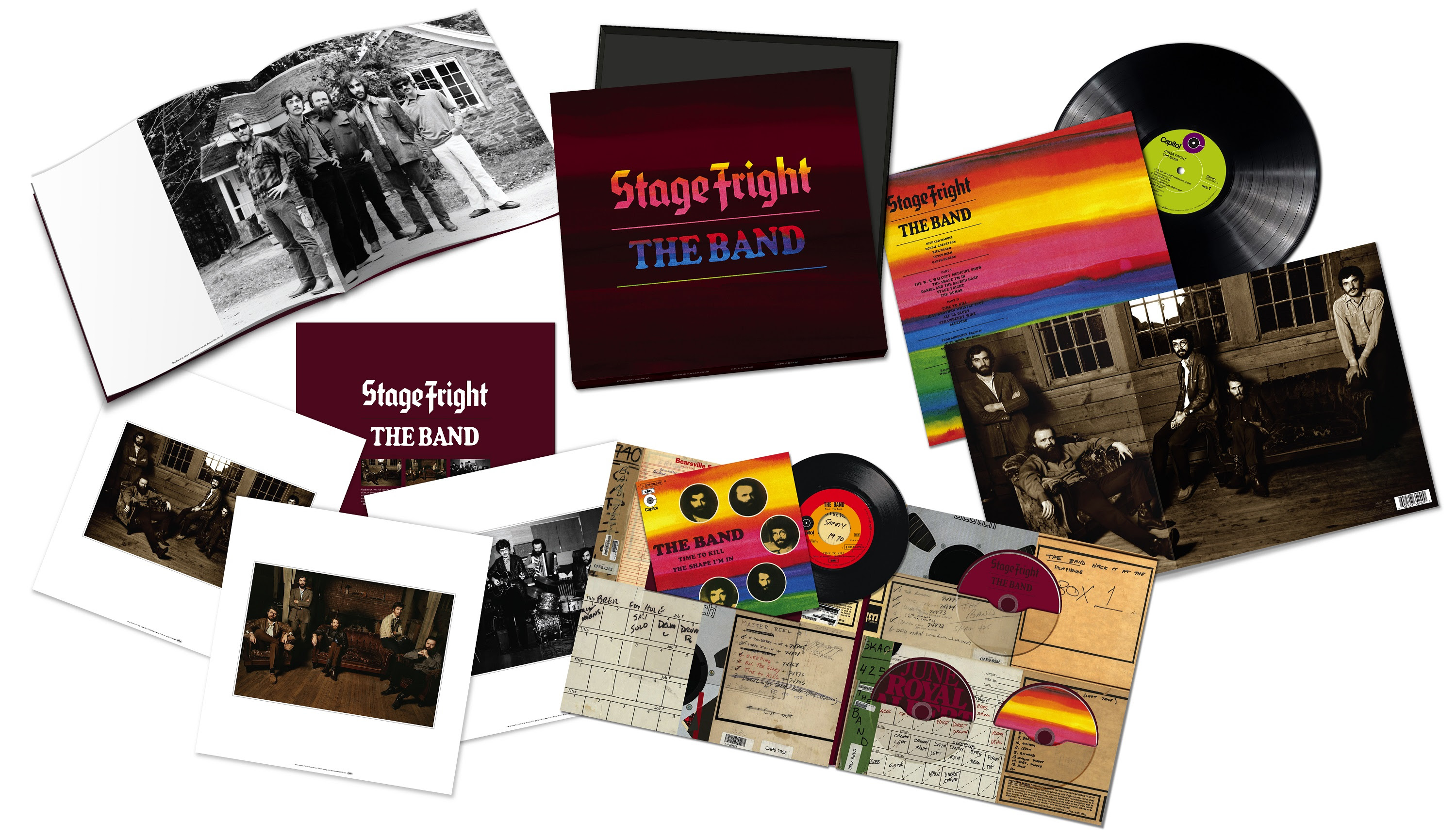 "The Band's Classic Third Album, ""Stage Fright,"" Celebrated With Remixed, Remastered And Expanded 50th Anniversary Edition Releases"