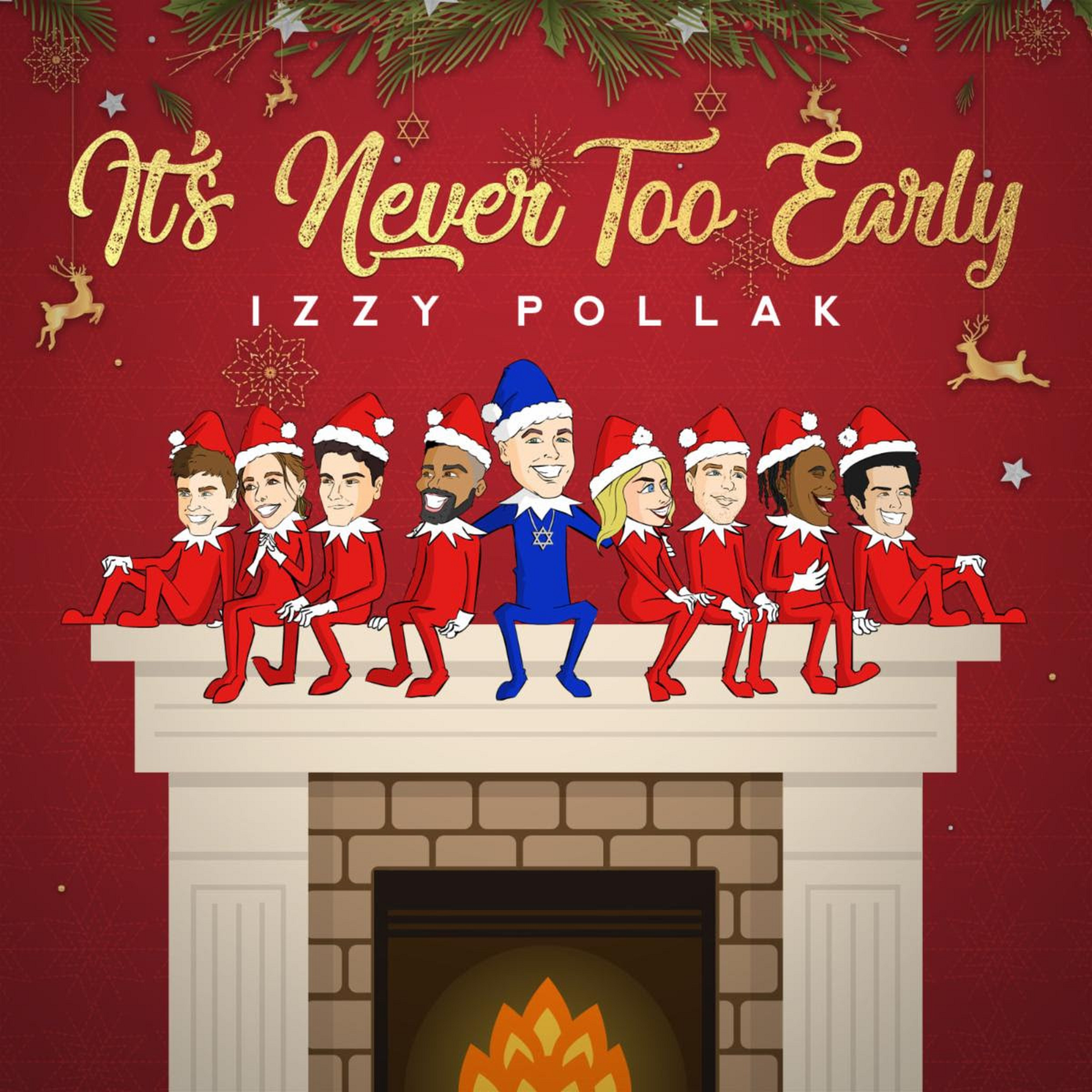 Izzy Pollak Releases Debut Holiday EP 'It's Never Too Early'