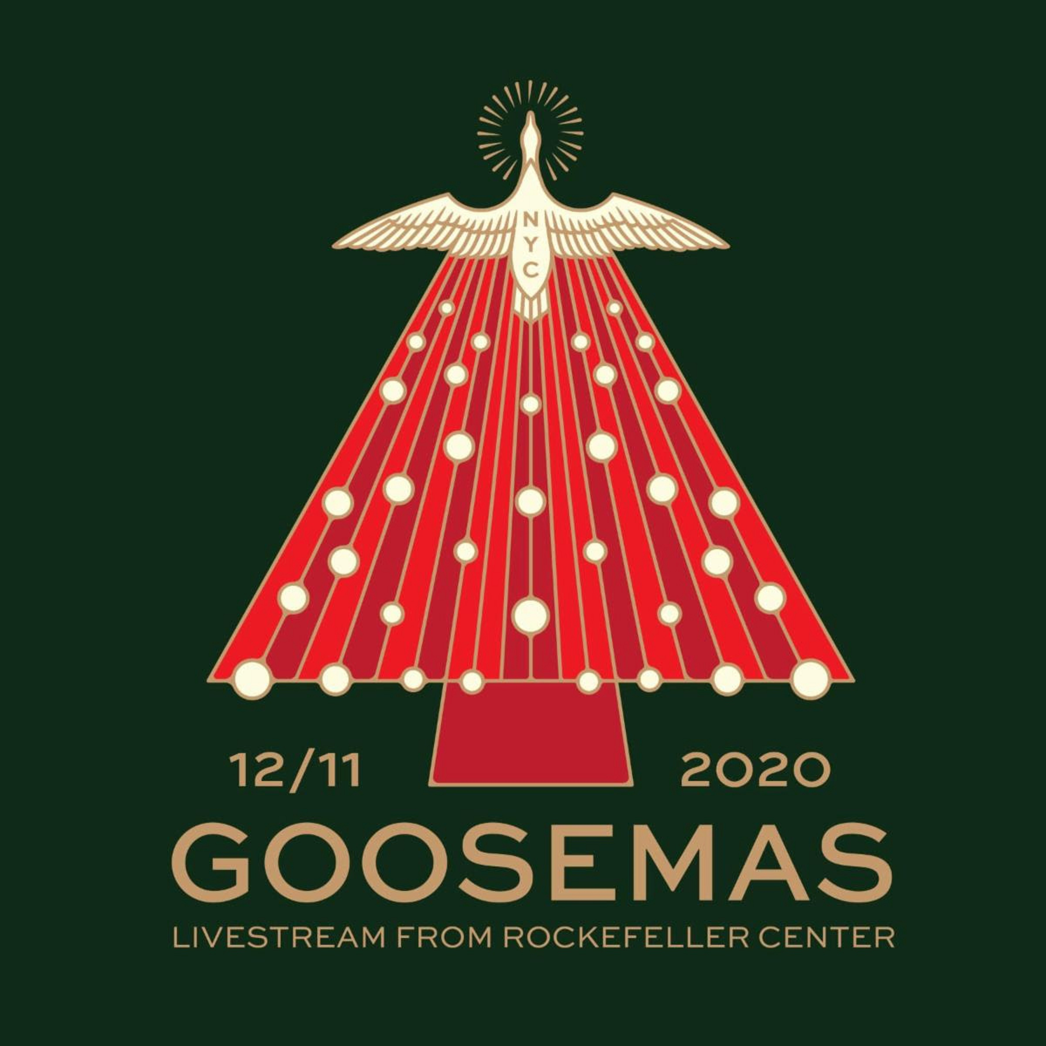"Goose announce ""Goosemas Livestream From Rockefeller Center"