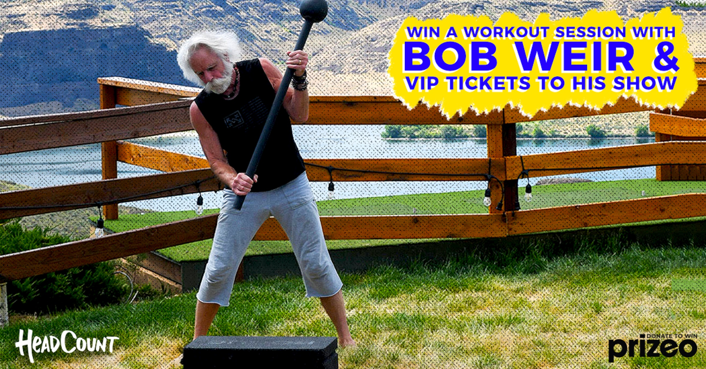 Win a Workout With Bob Weir!