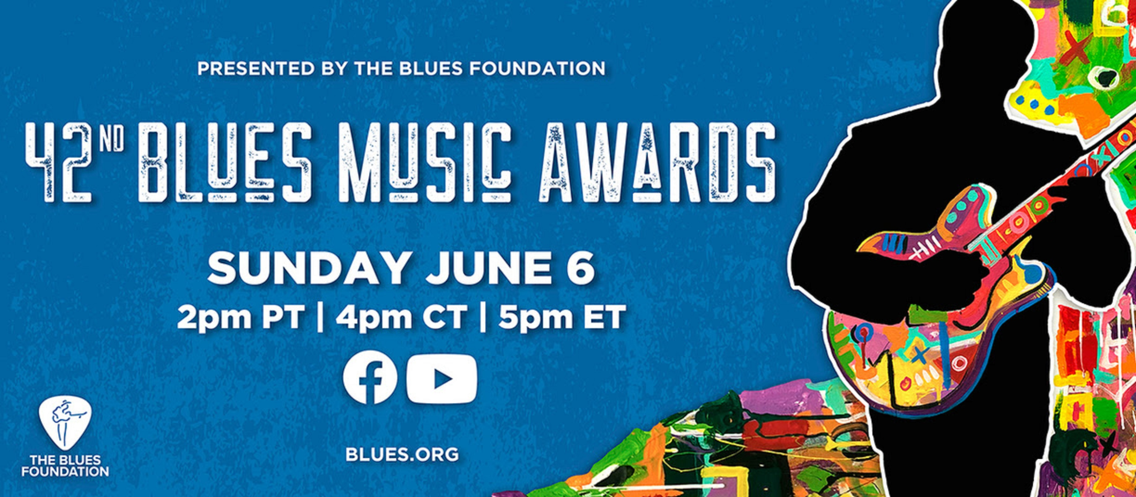 Blues Music Awards nominees announced; virtual celebration to take place June 6, 2021