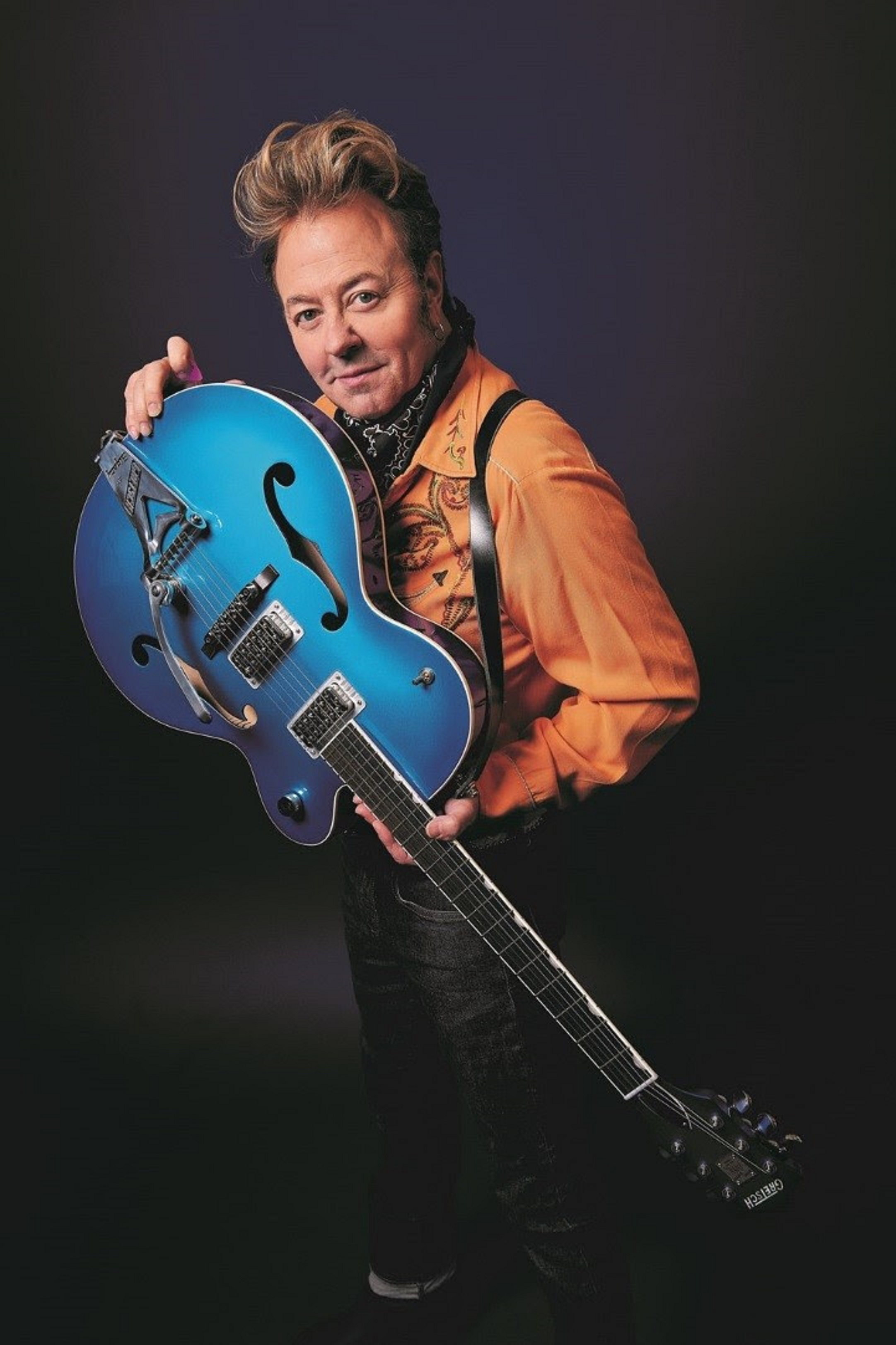 "BRIAN SETZER Forced To Cancel ""Christmas Rocks! Tour"" On Doctor's Orders"