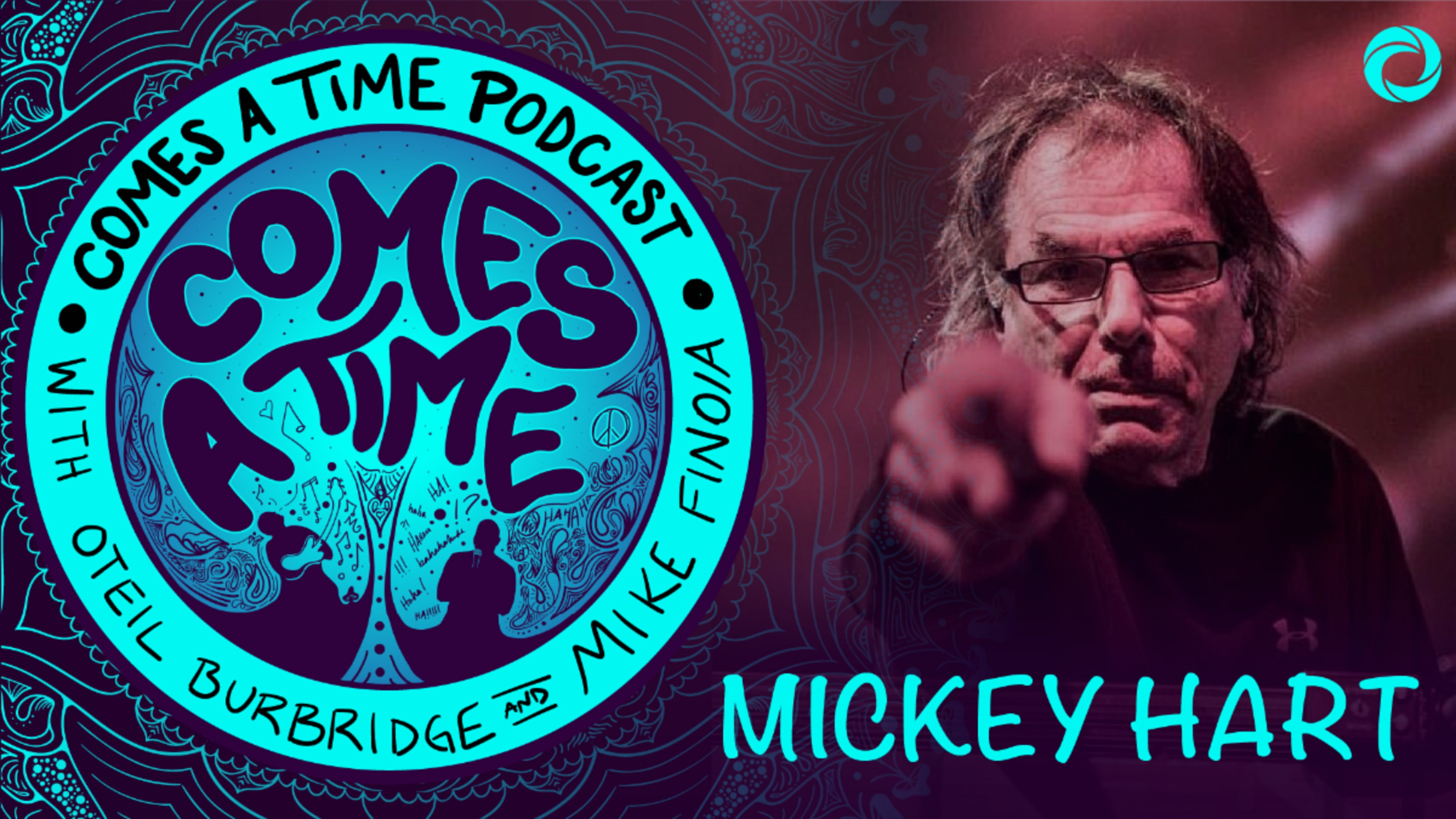 Mickey Hart joins Oteil Burbridge & Mike Finoia on new podcast series