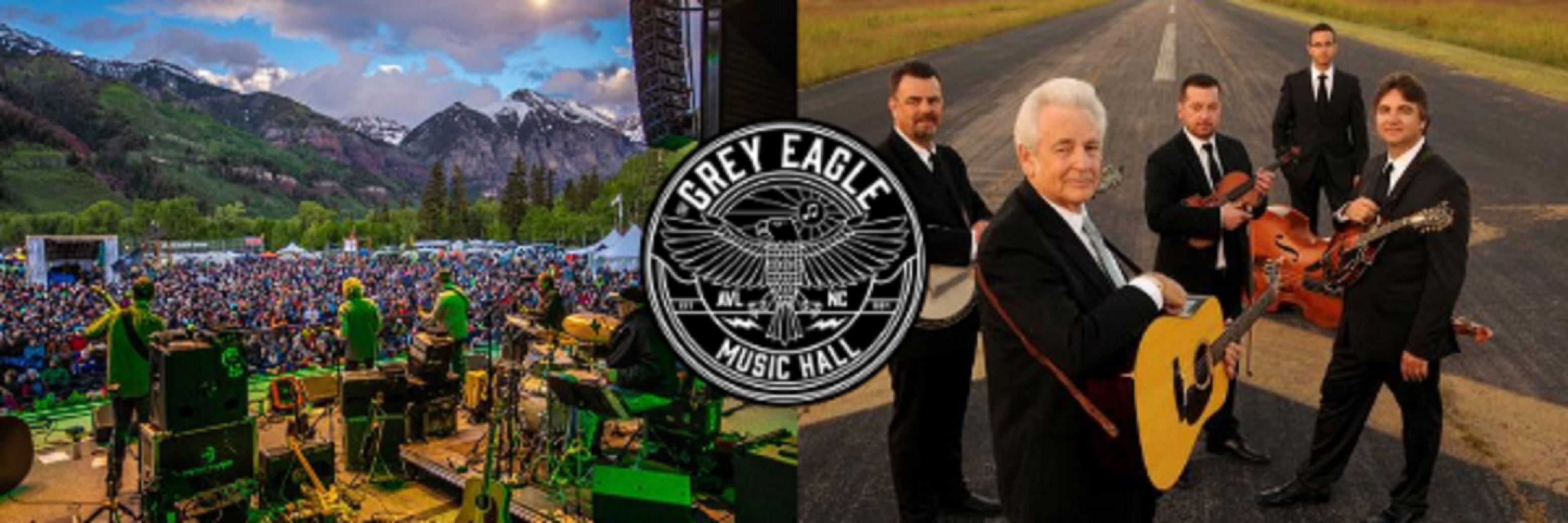 The Grey Eagle Announces Drive-In Shows Ft. SAM BUSH BAND and DEL MCCOURY BAND at Maggie Valley Fairgrounds