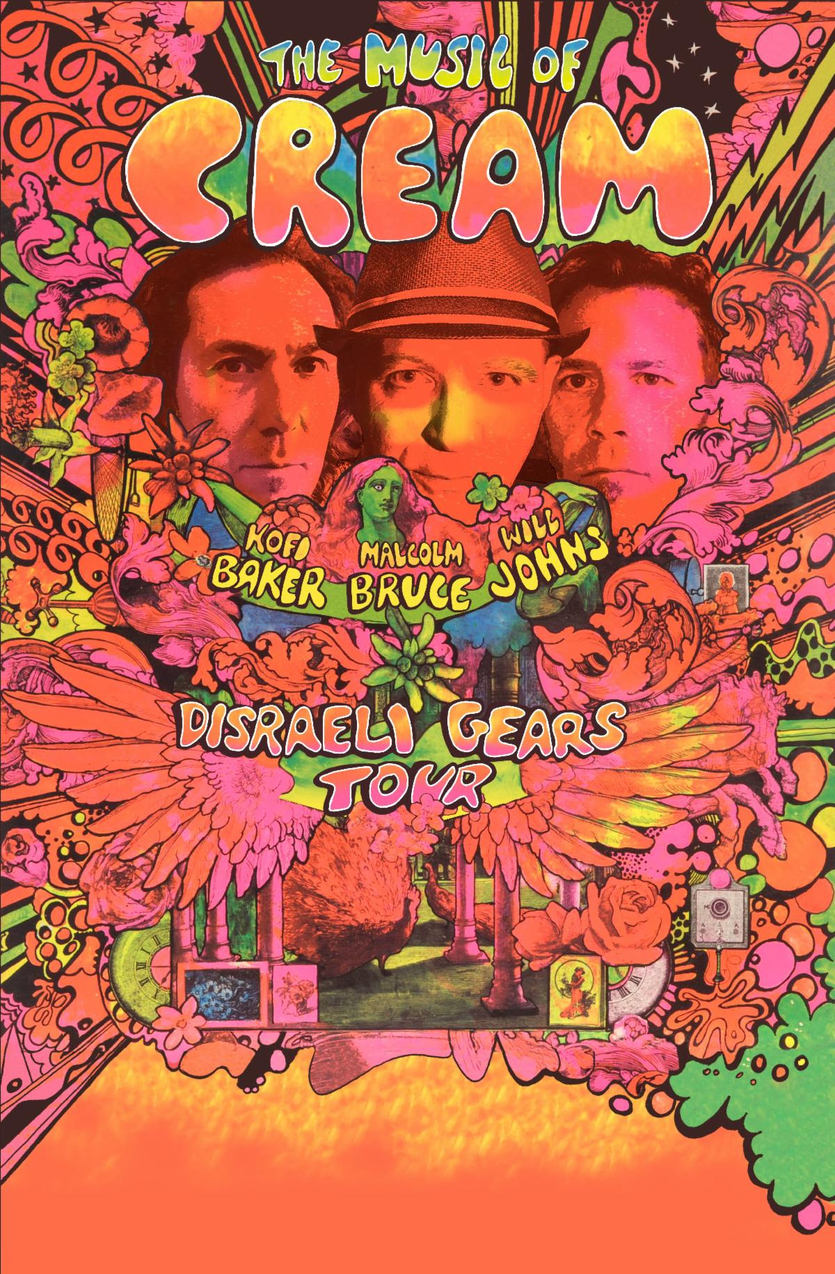 THE MUSIC OF CREAM Announces 2020 Disraeli Gears Tour