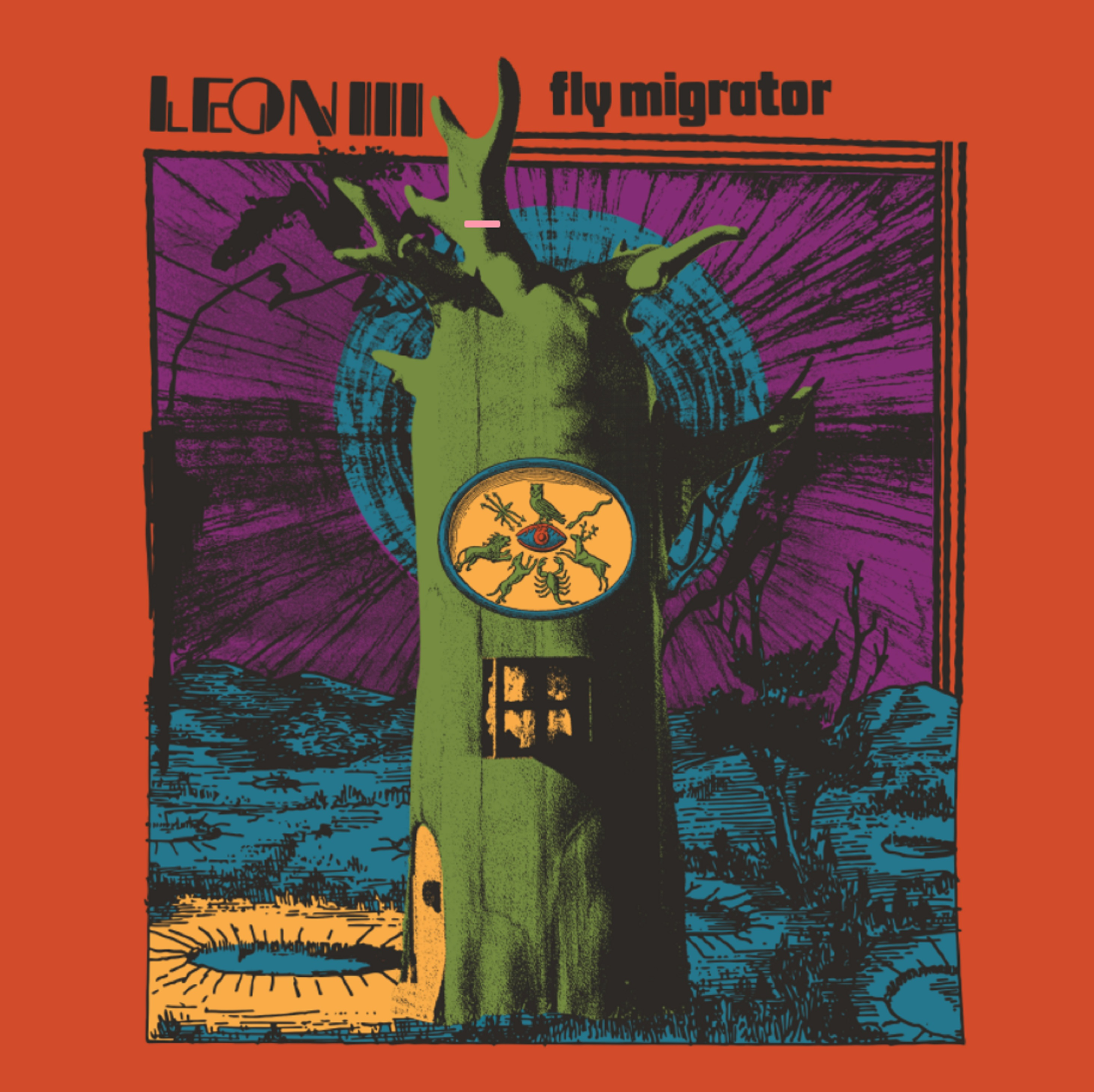 """Fly Migrator"" is a psychotropic rock experience from Leon III"