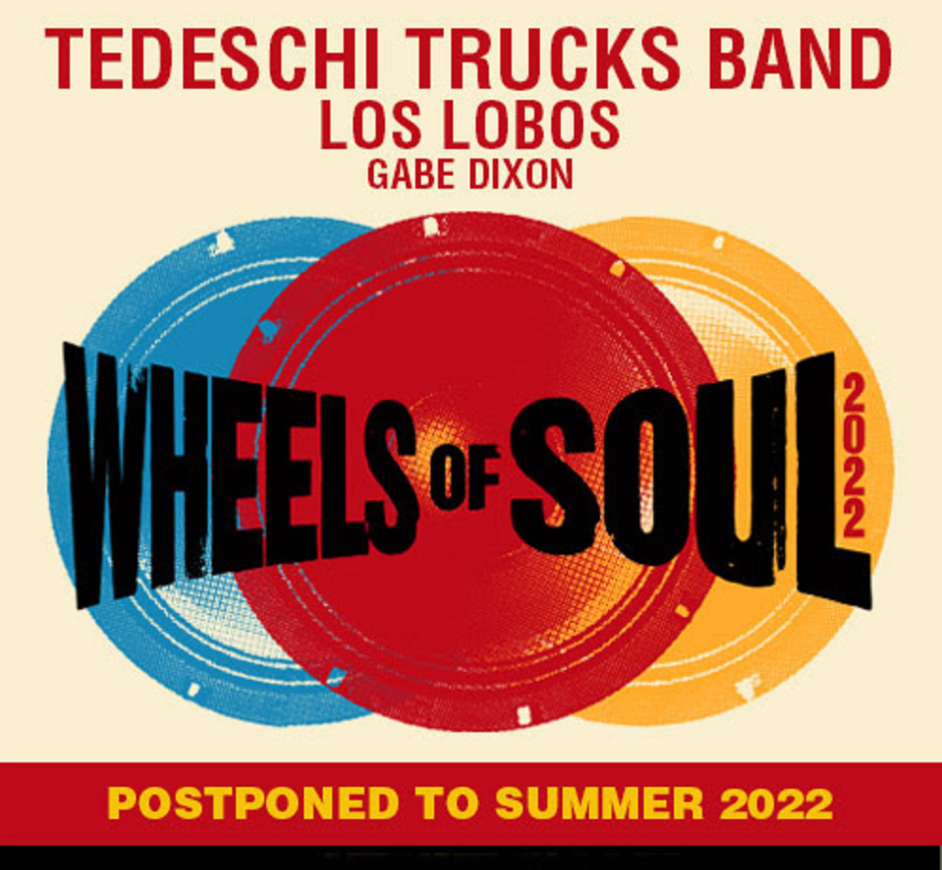 TEDESCHI TRUCKS BAND Postpones Summer 'Wheels of Soul' Tour to 2022