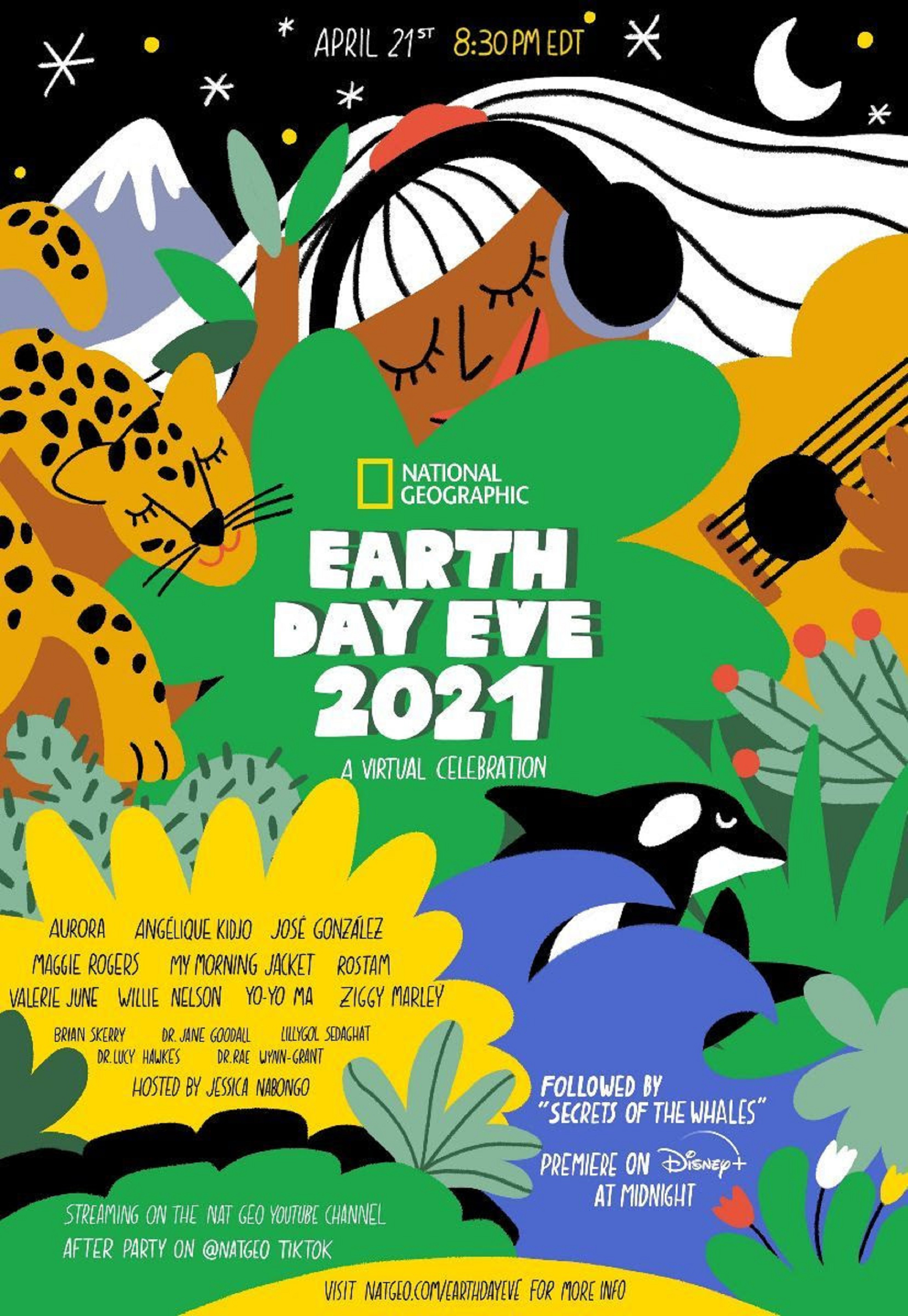 National Geographic Announces Earth Day Eve 2021 Virtual Celebration
