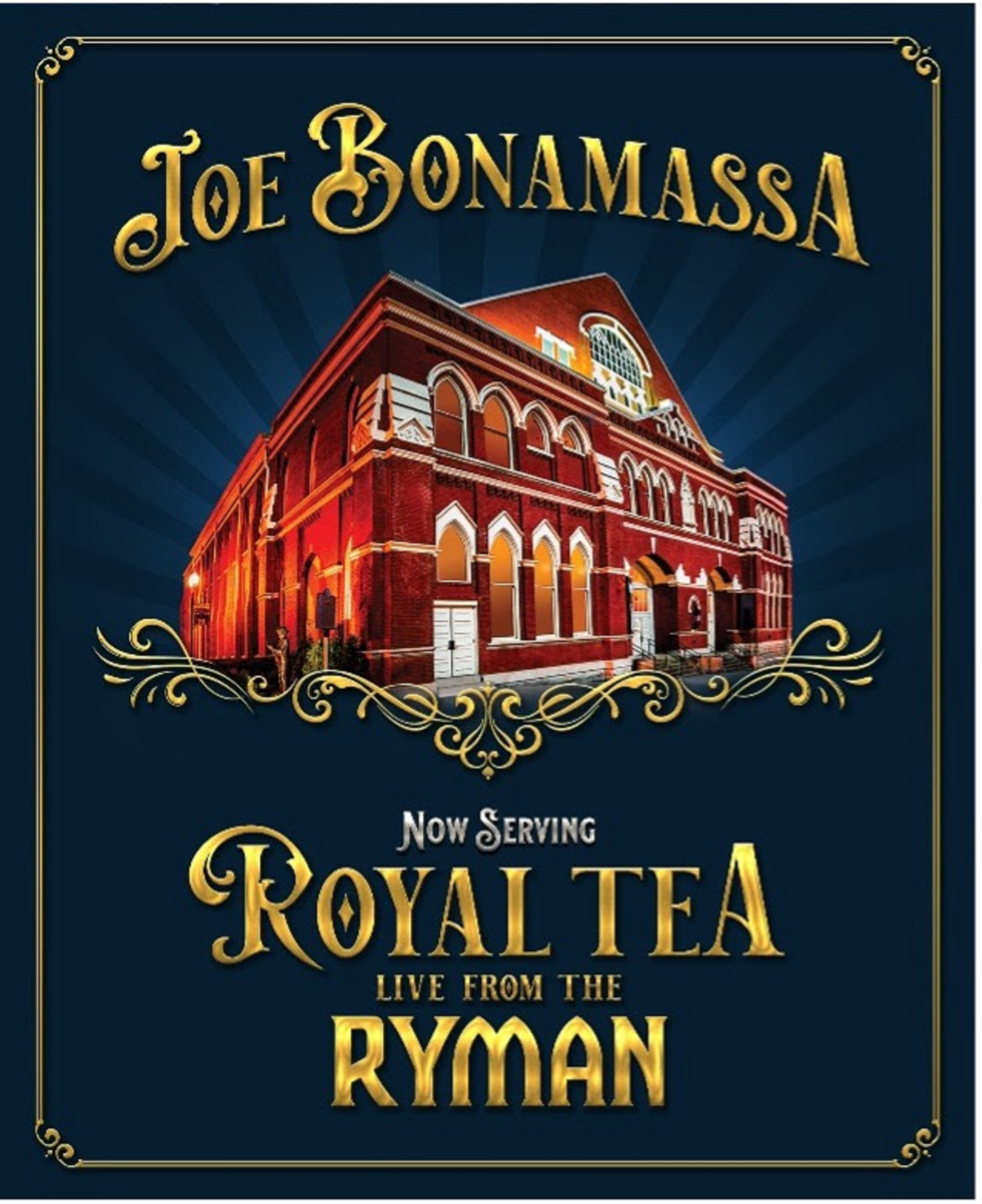 Joe Bonamassa to release 'Now Serving: Royal Tea Live From The Ryman' ft. intro by Jeff Daniels