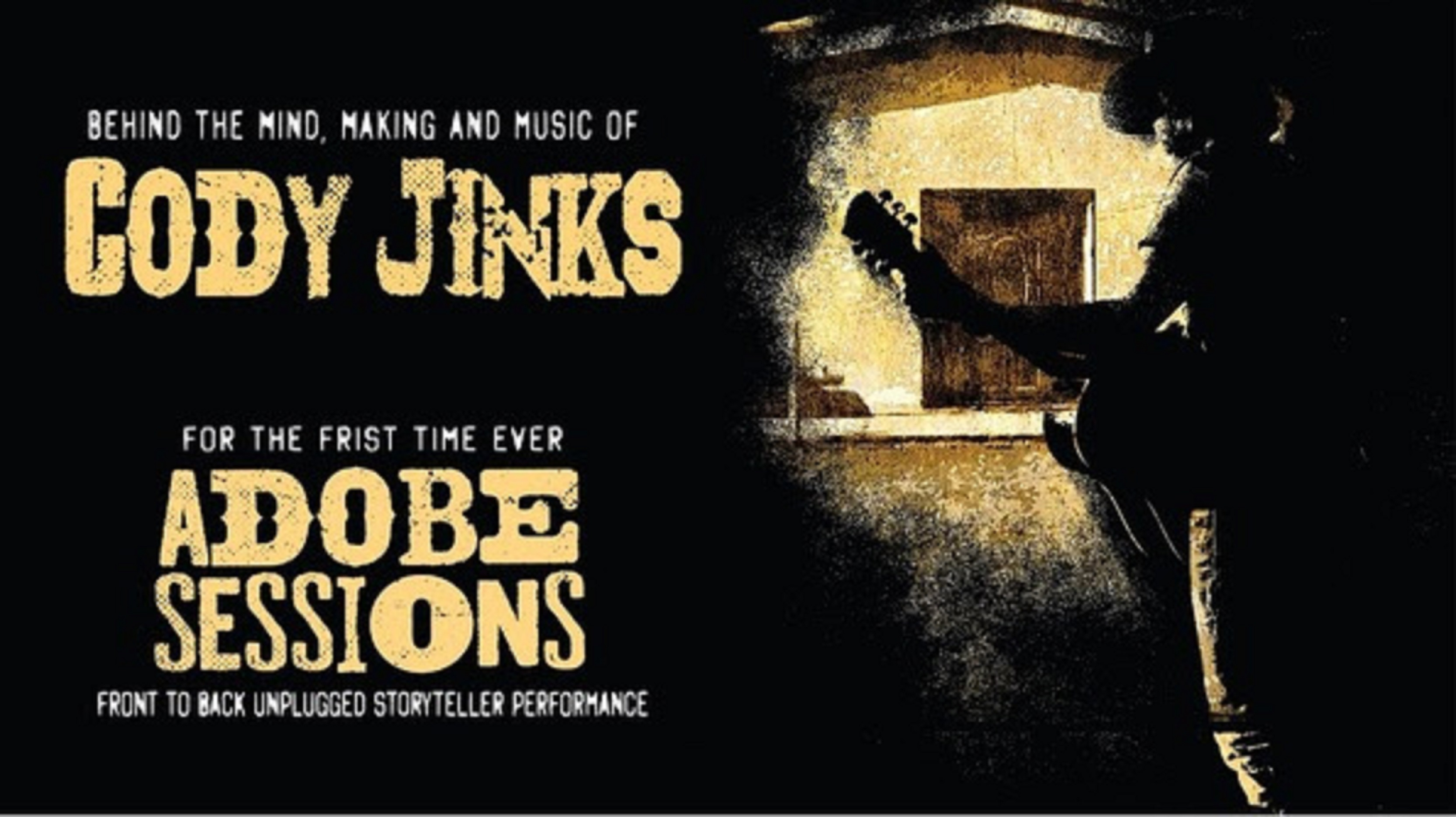 "Cody Jinks' ""Adobe Sessions Unplugged"" acoustic album out now"