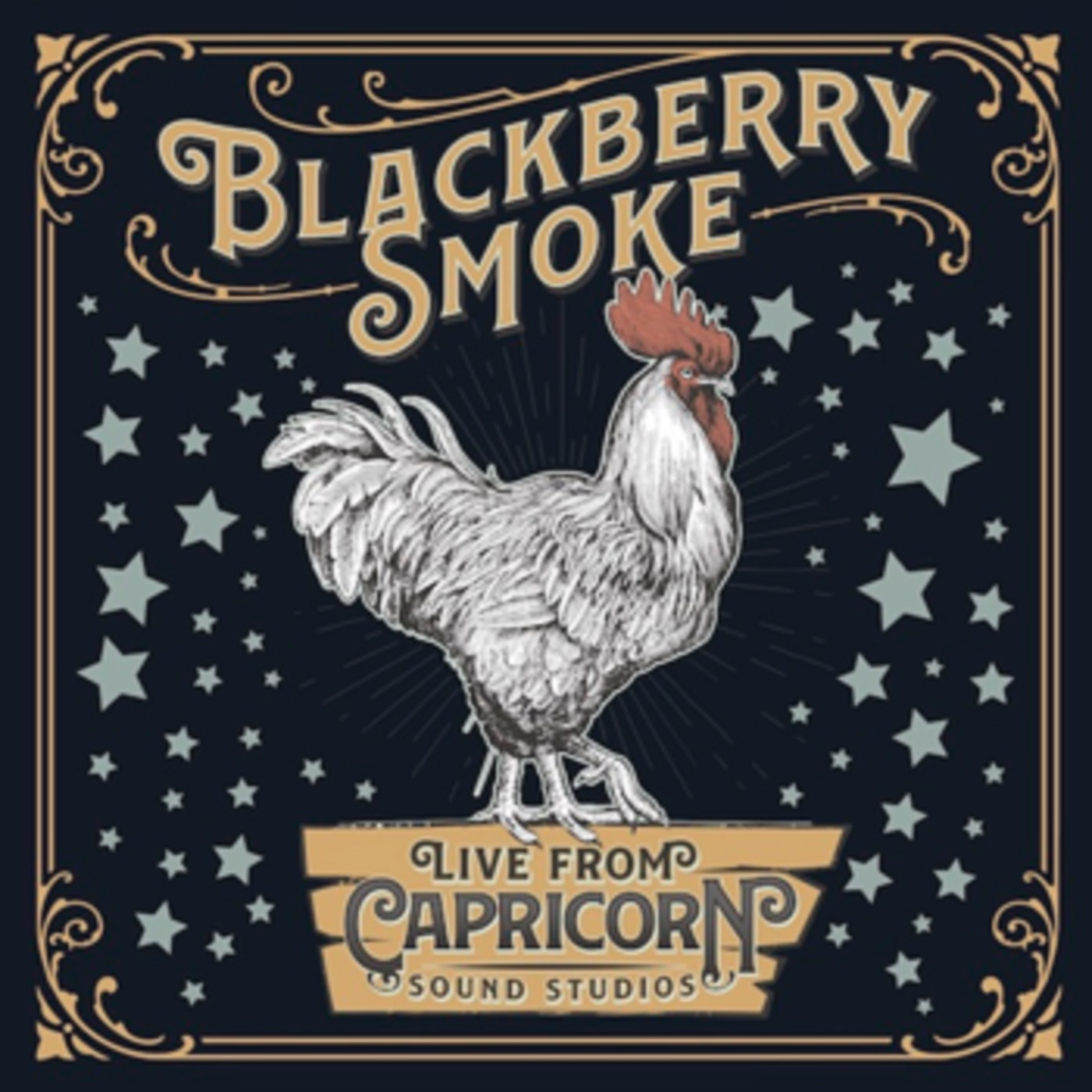 "Blackberry Smoke's new ""Live From Capricorn Sound Studios"" EP out June 19"