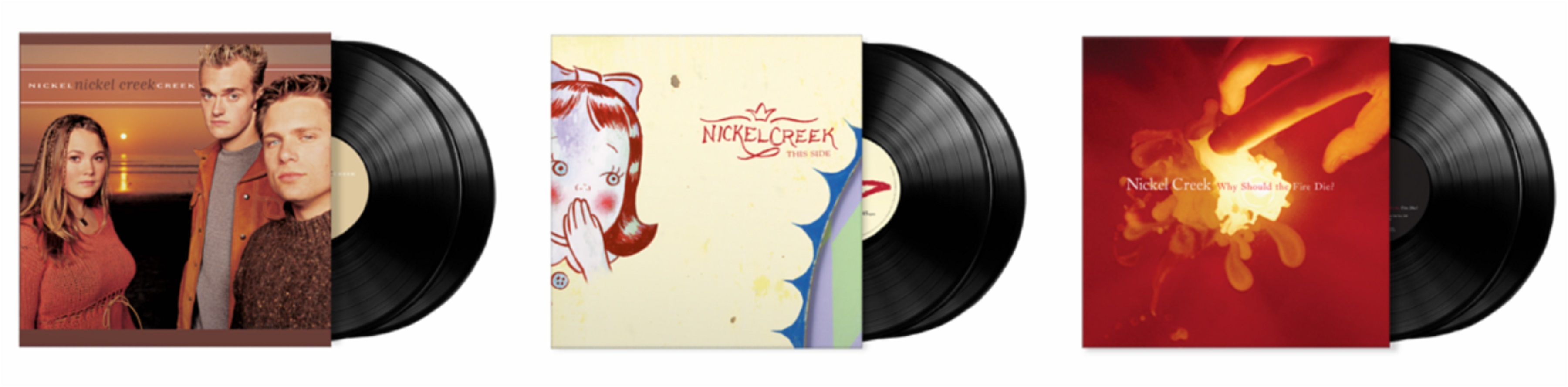 Craft Recordings celebrates Nickel Creek with long out of print vinyl reissues