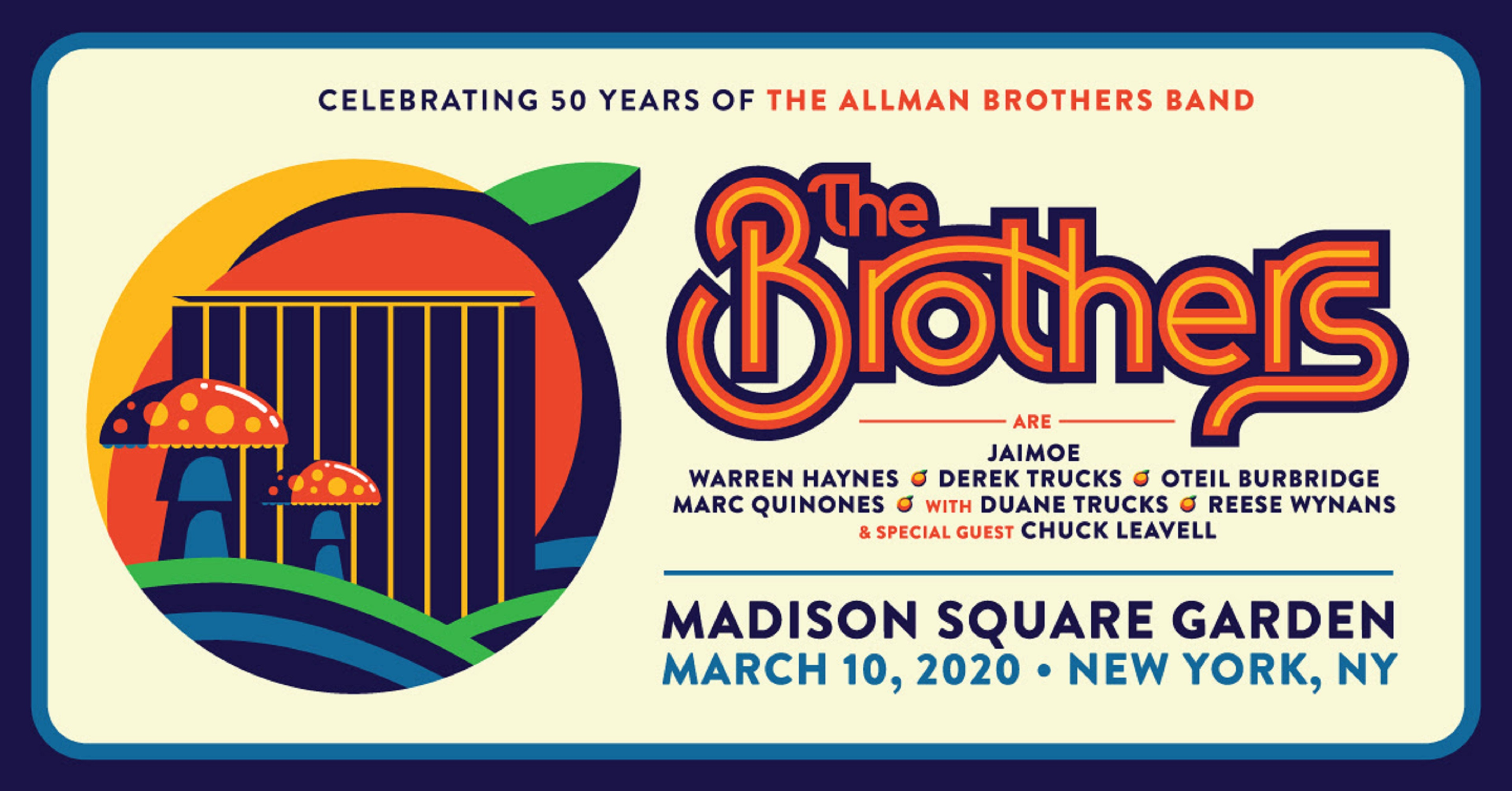 The Brothers' Sold-Out MSG Show on PPV via Nugs.net