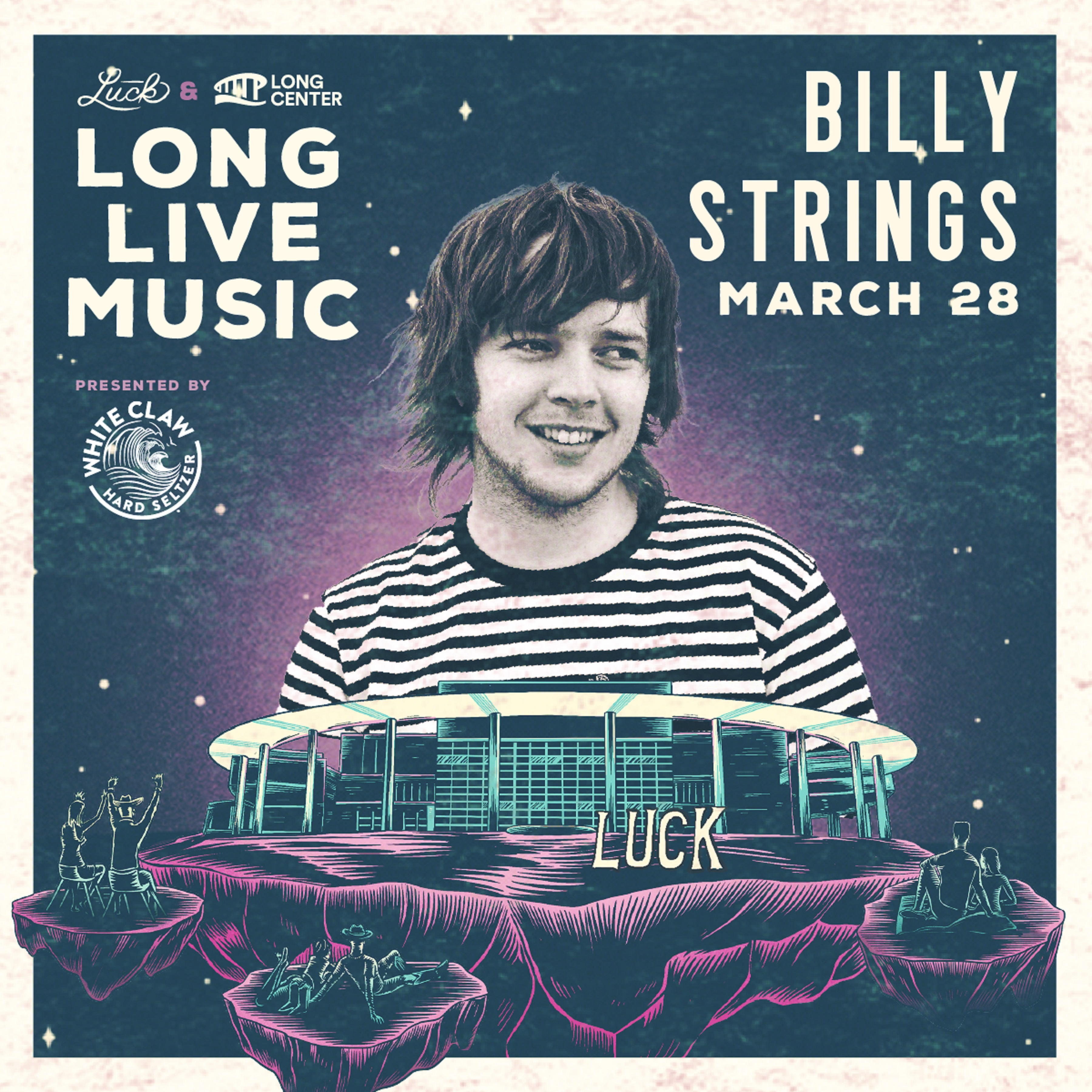 Billy Strings to perform at Long Live Music, a socially distanced concert series