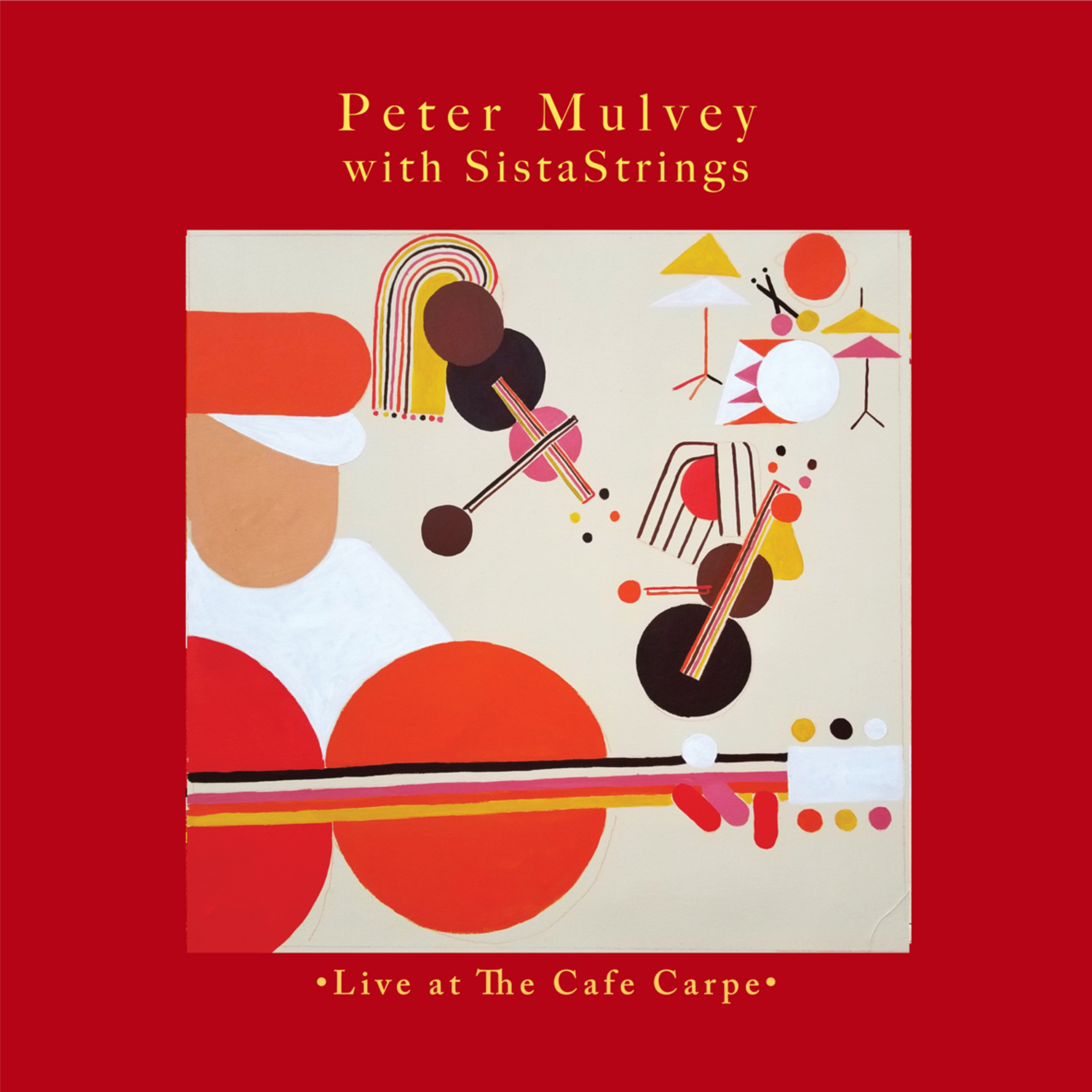 'Peter Mulvey with SistaStrings: Live at the Cafe Carpe' to Be Released October 9