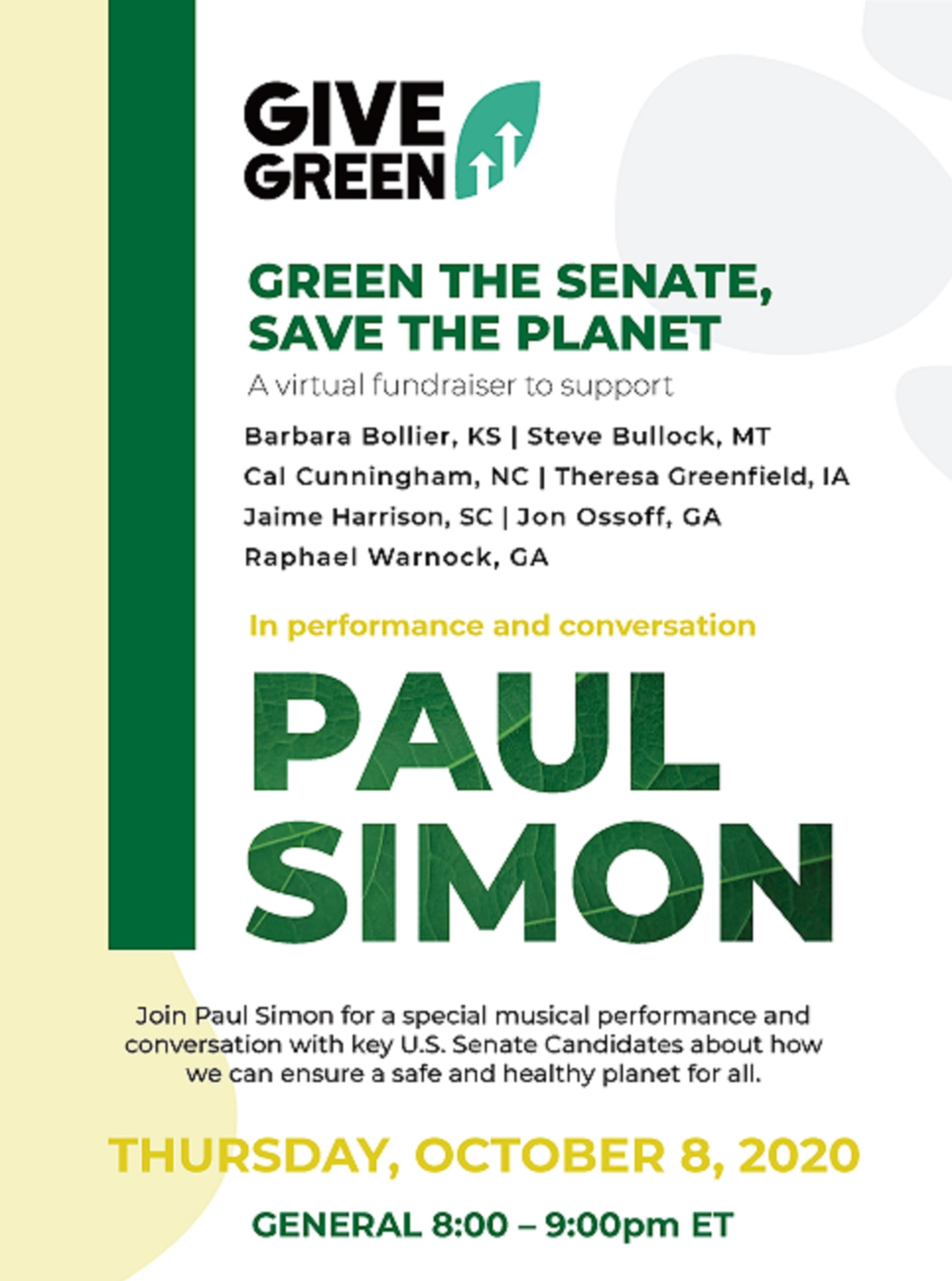 Green The Senate, Save The Planet